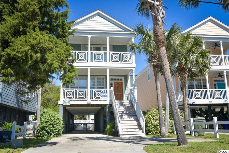 Black Barts is located in a wonderful section of Surfside Beach with ocean views from both front porches!  This four bedroom/four bathroom home comes equipped with a private pool and has great rental income as it rents for more than most comparable homes. The HVAC units were just replaced in 2018. There is a public beach access just off of 9th Avenue South, just steps away from this property. With no HOA, Black Barts is a great find!  Sells fully furnished with the exception of a few personal items. Call the listing agent, or your Realtor, to learn more about this property.