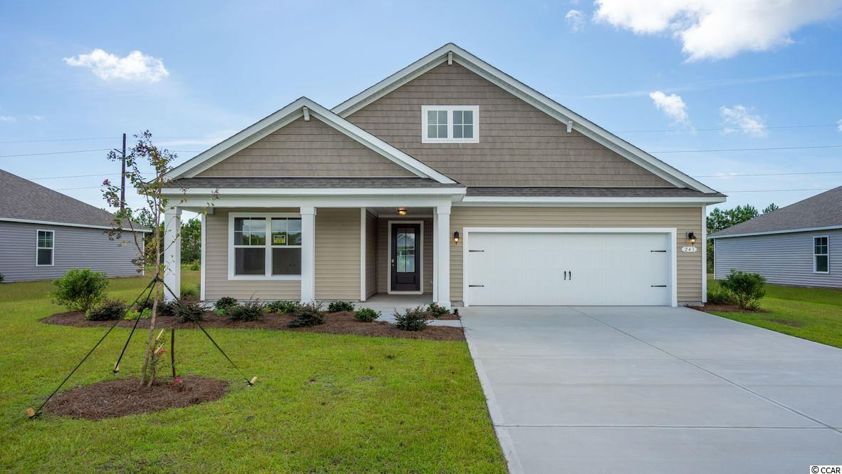 """Inlet Reserve is the place you want to call home! This is a natural gas community featuring 69 spacious homesites with private and pond views, conveniently tucked away in the heart of Murrells Inlet , yet just a short drive to championship golf courses, marinas, shopping, hospitals, beaches and the Marsh Walk where you'll find year round entertainment and award winning restaurants with spectacular views of the salt marsh and wild life.  If you are looking to downsize, upsize, or to add a pool and create your own outdoor living space, Inlet Reserve has the homesite and home for you.  We offer a mix of 1 story and 2 story thoughtfully designed open living floor plans, perfect for entertaining family and friends. The Litchfield  is a 1 story home featuring an extended front porch with a cottage shake style elevation on the front, 4 bedrooms, 2 bathrooms, crown molding, 5 1/4"""" baseboard, trimmed out windows and 8ft. entry door.This home features a large kitchen area with 36"""" staggered cabinets , granite countertops which includes a large gourmet island overlooking the family room and dining area, walk-in pantry, tile back splash, pendant lights and stainless steel appliances. This open floor plan is perfect for entertaining friends and family. Low maintenance Tile Look Wood floors throughout the main living area. Tray ceiling in Owners suite , his and hers walk-in closet, 5 ft. walk-in tile shower, double vanities and bowls. Split floor plan with 3 nice size guest room. 11 ft. ceilings through the main living areas. Off the family room 8ft. double sliders open to a 9'x 25' rear covered porch with a huge back yard where you relax and enjoy your morning coffee or read a good book! New Community in popular St. James school district. Pictures are of a previous built home and model and are for representation purposes only. Ask about our included Smart Home Connection! Call and schedule your appointment today!"""