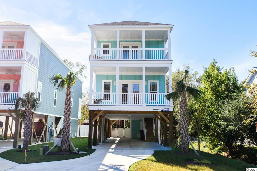 The new construction home will be in the vacation rental district. Perfect for an investment property, 2nd vacation home, or primary residency. The floor plan features 5 bedrooms, an elevator, 3 covered porches, and an open concept living/dining area. Outdoor inground pool. This house will sell quickly!