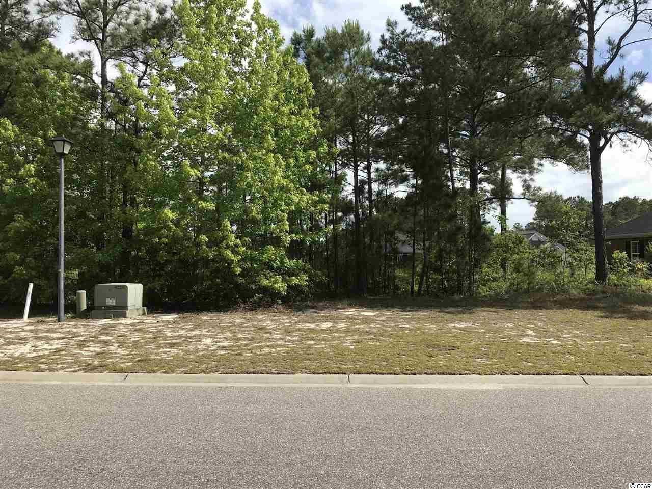 This amazing Carolina Forest residential lot located inside a gated community on a lakefront lot.  This lot is a prime location for your future dream home.   All residences have to have at least 1800 heated square feet, with a minimum two car garage, and exterior must be either brick, stucco, or stone.  The neighborhood is conveniently located just 2 miles from all the shopping of Carolina Forest and Hwy. 501.   Amenities includes the community pool,  a covered pavilion and playground. It is  just a short drive away from many golf courses in the area: The Legends, Burning Ridge, Man-of-War, Wild Wings, River Oaks and the famous World Tours.     Please call for more information.   Square footage is approximate and not guaranteed.  Buyer is responsibly for verification.