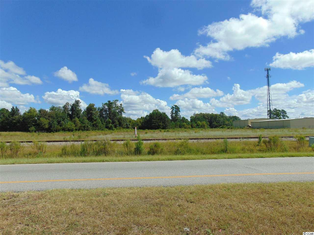 Property is close to CCU campus.  New survey shows 4.48 acres of Highway Commercial property.  Inside the City of Conway.  300 feet on Hwy. 501 with 66 feet of access from University Forest Dr.   Many possibilities. Boundary survey and Topo map available upon request.
