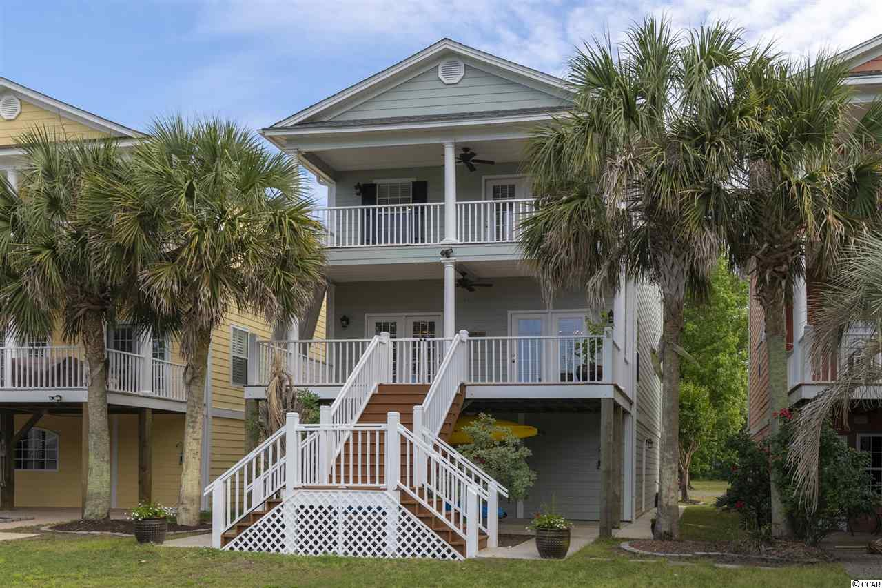 Awesome opportunity to own this beautiful home directly on the Intracoastal Waterway. Hidden Harbor is a small gated community close to all Myrtle Beach has to offer. Myrtle Beach International Airport the Coastal Grand Mall with restaurants and shopping near by. Enjoy Waterway Living at its Best!  Private lift and community ramp complete this Boaters Paradise. Enjoy the Spectacular Views and watching boats Sail and Sunset from two large porches off the Living Room and Master Bedroom. The Open Kitchen & Dining area is perfect for family gathering and entertaining. Large ground level storage off the 3 car garage can a be used as a work shop or exercise room. Newly painted Hardie Plank exterior siding. Grounds are professionally landscaped and maintained. If you are considering a primary or second home, and enjoy waterway views or boating, this is a must see!!