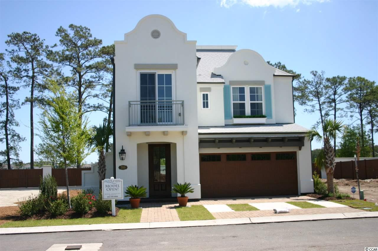 MODEL HOME LEASEBACK OPPORTUNITY.  CALL FOR DETAILS Welcome to A Life Well Earned! 82 Dunes is a very special piece of property in Myrtle Beach's most exclusive area.  Only 29 homes sites will be developed in this community.  82 Dunes, surrounded by Grande Dunes & The Dunes, is just a short walk or golf cart ride to the beach, golf, the Marina, dinning, shopping and full service medical facilities.  Modern homes featuring a unique Dutch West Indies architecture are custom-built to your specifications. The renderings are for marketing purposes only & do not necessarily reflect the final elevation constructed.  This model home is for sale as a lease-back opportunity.  CALL TODAY FOR THE DETAILS ON THIS GREAT OPPORTUNITY!