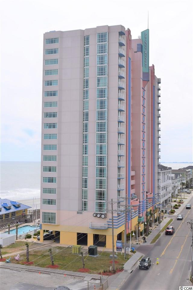 Walk in to this gorgeous ocean front condo and be amazed at the panoramic views from the floor to ceiling windows and balcony doors.  This beautiful end unit is upgraded with new tasteful paint, couch and family room chairs. End units are especially sought after because they have extra windows in the family area providing more natural light and beach views which really make the unit feel even more spacious. Plus you get all the wonderful amenities of the world famous Price Resort - lazy river, indoor & outdoor pools and easy access to one of the few fishing piers along our beautiful strand. High efficient HVAC system is only 3  years old.