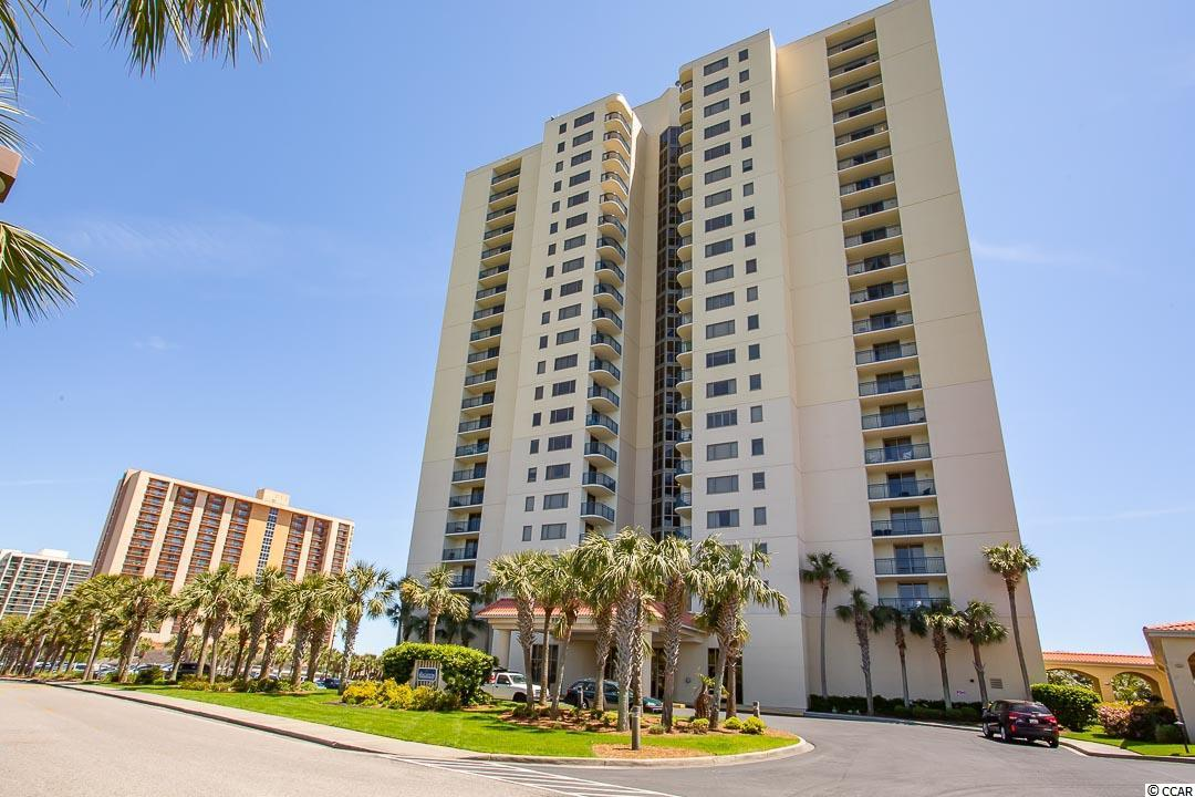 """Amazing location, just steps from the Atlantic!  You will not regret viewing this beautiful panoramic view from the highly desired high rise, Brighton Tower in Kingston Plantation.  Look on for miles and miles of unobstructed oceanfront stretch.  This three bedroom, three full bathroom """"lock-out"""" floor plan gives you great flexibility to use or rent or both at the same time!  One large ocean front deck off the master bedroom and dining area and a second off the """"lock-out"""" bedroom.  Whether you are looking for a primary, second home, or investment, this spacious home can handle the job.  Kingston Plantation is the most prestigious and secluded resort Myrtle Beach has to offer.  Brighton Tower is an easy walk to the Embassy Suites Hotel that features a number of dining venues, an interactive water park, a lazy river and more.  Our new state of the art fitness center and spa will keep your family and guests coming back year after year.  78 Fitness is second to none when it comes to resort work out centers.  Tennis courts, pickle ball courts, saunas, indoor pool, Golf Simulators, full service bar, fire pit and much more!  Spa 33 is one stop shop for all your pampering needs.  With services like facials, steam showers, hair salon, manicures, pedicures, private and couples massage rooms!  Come see all that Kingston Plantation has to offer!"""