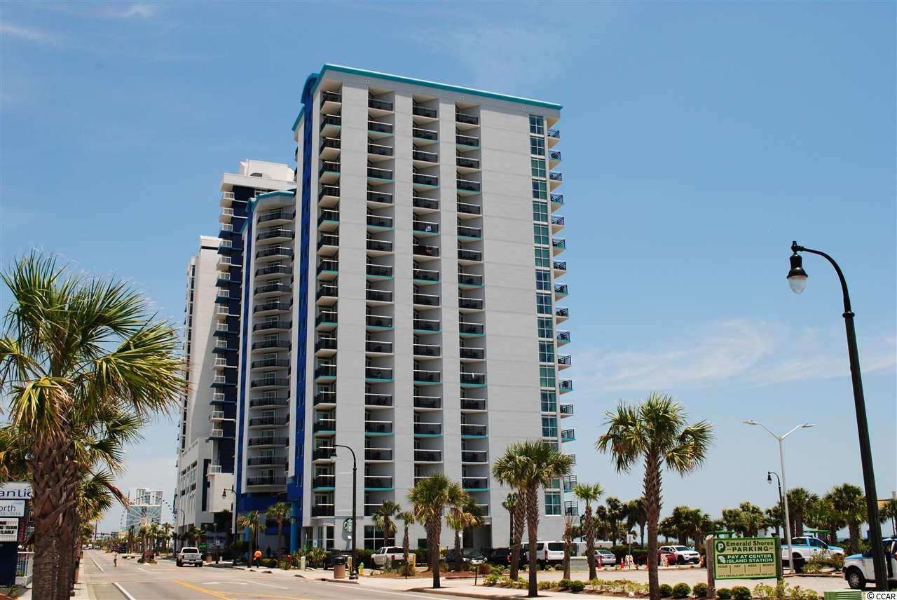 Bay View Resort located in the heart of Myrtle Beach has everything to offer. Great views of the Atlantic ocean right from your balcony. This is an end unit offering 2 balconies off of living room giving you ocean views along with Boulevard and as far South views as you can see. You also have balcony access right from your bedroom. Bay View is within walking distance of the SkyWheel, 2nd Avenue Pier, and a wide array of restaurants and nightlife Myrtle Beach has to offer. Also the Myrtle Beach Boardwalk is right outside your door. While staying at the resort you can enjoy the indoor/outdoor pools, lazy river, Jacuzzi, life size chess & checkers, shuffleboard, and even an onsite Starbucks just to name a few. This is a MUST SEE unit that has been very well maintained. Take advantage of this unit for it would make a great 2nd/vacation home or investment.