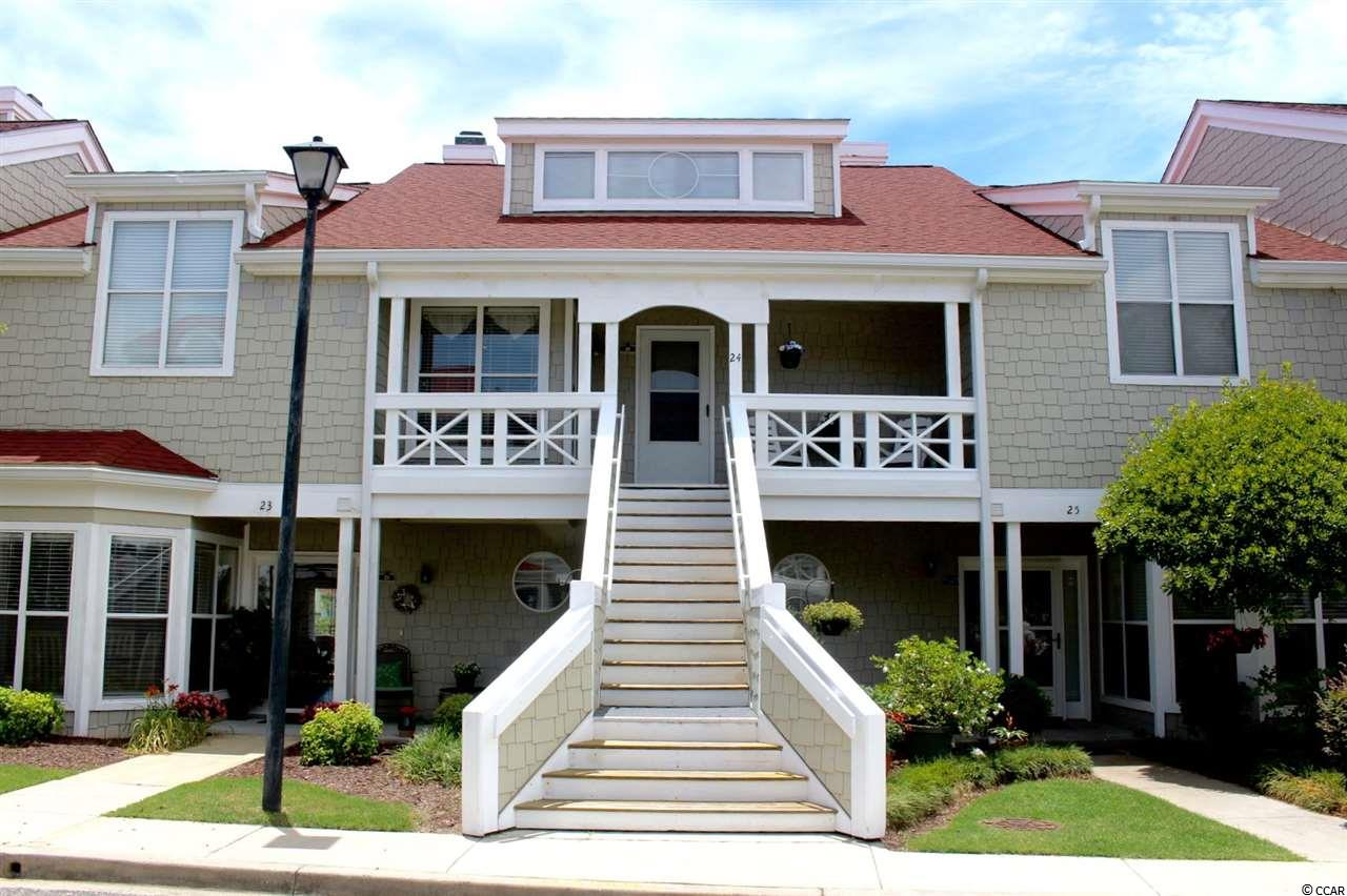 Sail away to a boaters paradise in Little River.  Only minutes to North Myrtle Beach where golf courses are plentiful, along with some of the best shopping, fine dining, water sports, live entertainment and all the fun in the sun you can stand. This must see 2BR/2.5BA condo has two master suites, a sunken living room centered around a custom stone fireplace and wet bar for entertaining family and friends.  The main floor master suite has a walk in shower and an addition that could be used as an extra sitting area, exercise room or office. Enjoy the tremendous waterway view from the hardwood rear deck off the living area.  Boat slips are available for sale or rent and the marina has recently been dredged.  Mariners Point is a great community with a clubhouse, private bar/lounge, tennis courts, hot tub and pool.  Property being sold fully furnished.  Call today for your private showing. Renter in place with 24 month lease.  Square footage is approximate and not guaranteed.  Buyer is responsible for verification.