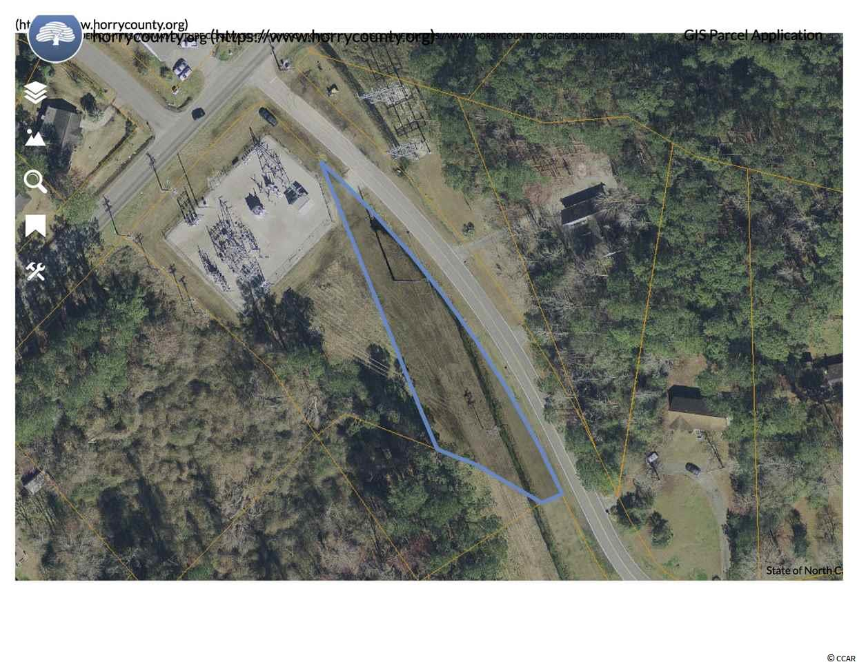 Great price. Easy access to Hwy 501 from Forestbrook Road. Land is adjacent to Horry Electric substation. All listing information is deemed reliable, but it is the buyers' responsibility to verify.