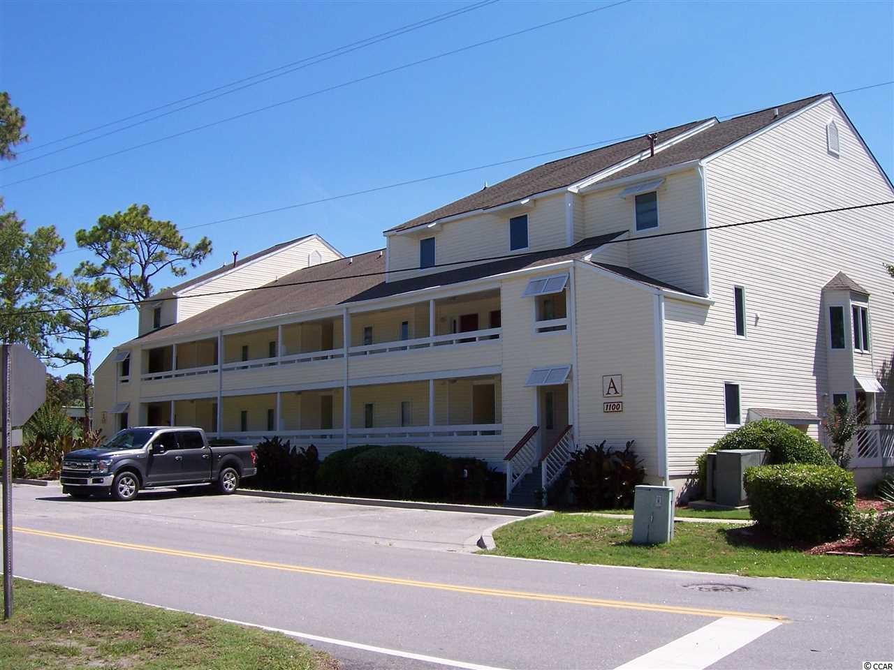 Looking for an inexpensive place at the beach? How about this first floor condo wrapped around the golf course with swimming pool and tennis courts just steps away. Only minutes to the beach and the Main Street festivities. Great location near ball parks, community center and everything North Myrtle Beach has to offer. This is a great buy! One bedroom with a full bathroom and also a guest half bath room. Spacious living room and screened in porch , All Tile throughout . Great location for a second home or place for someone with kids. and comes partially  furnished.Call for a showing today before it's gone.