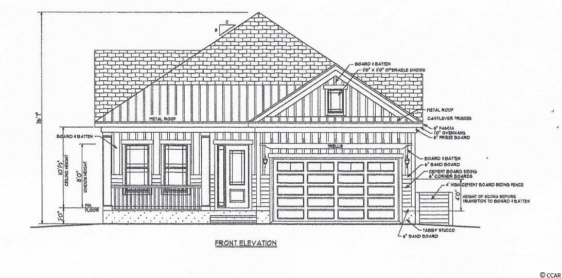 TO BE BUILT. This is a great house package for a great custom home community. This upscale community is perfect for home buyers that desire to have the custom built experience. Driving through this community you can see a various amount of houses that have been tailored to their owners' specific tastes. The house plan for this lot is provided by a local custom home builder and is tailored to the size of this lot. Buyers can pick the finishes, change or add features that fit their needs and make this home one of a kind. Waterway Palms is a full time gated neighborhood in Carolina Forest in Myrtle Beach. The amenities of this community are on a 20 acre peninsula and include a resort style 23,000 sqft pool, multiple tennis courts, basketball court, a workout facility, and a large playground. There is boat storage as well, with a boat launch into the Intracoastal Waterway! Come and build your custom home on this corner lot!