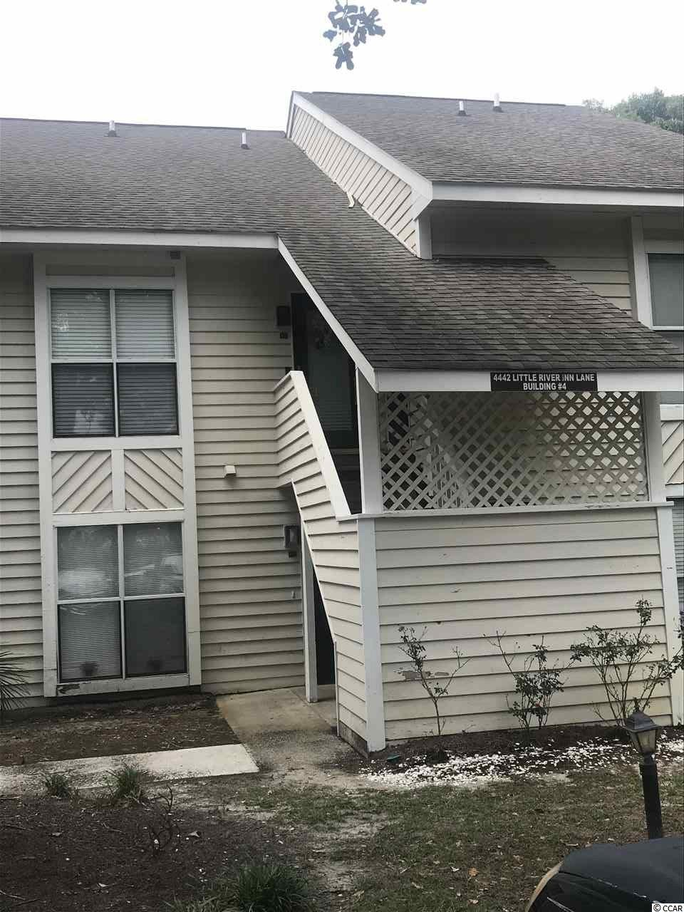 Ground level one bedroom one bath with a screen porch located by the community pool!