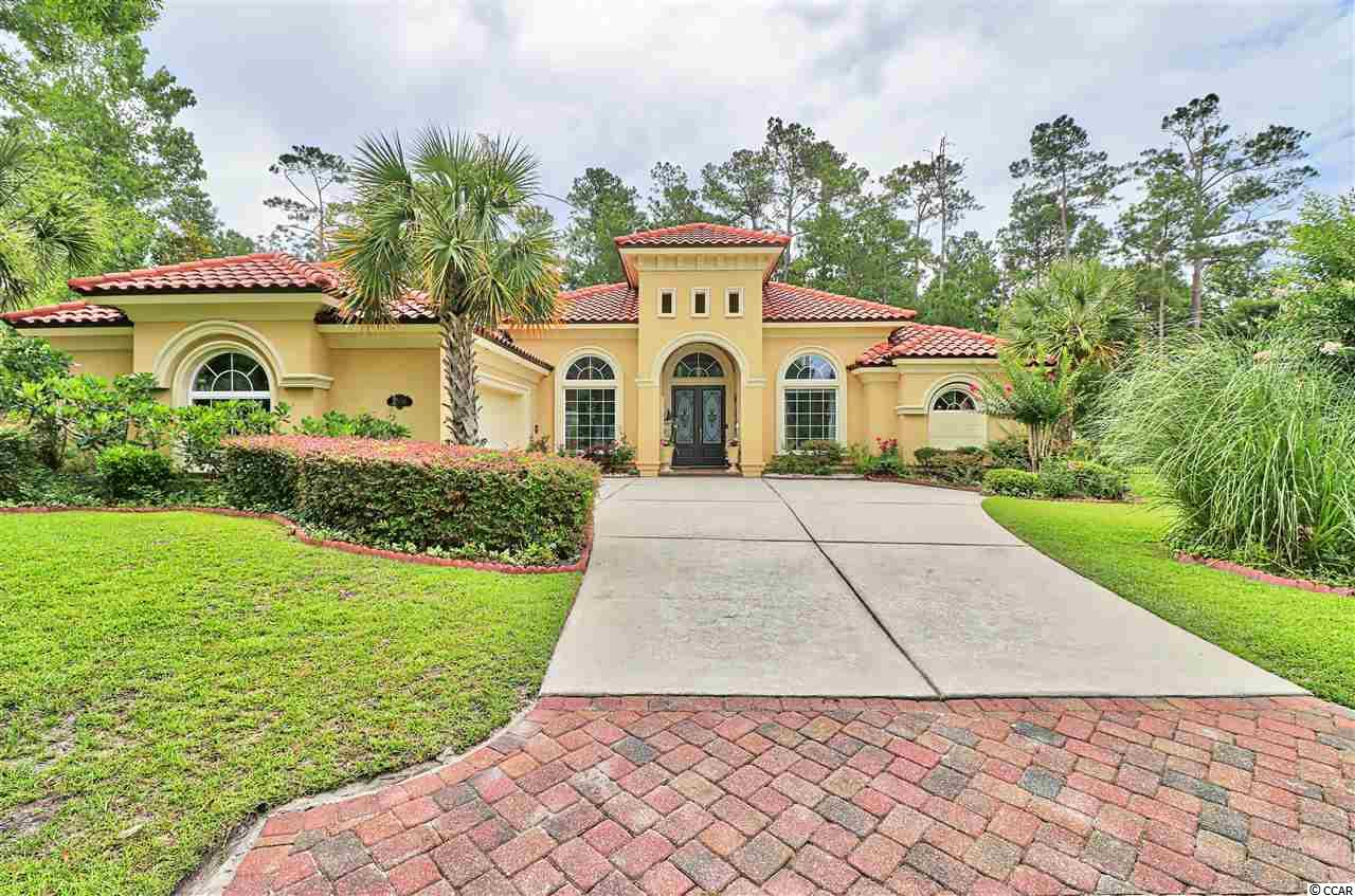 Gorgeous, FULLY LOADED home in the Siena Park, Grande Dunes. 3BR, 4BA, PLUS office. This home has so much to offer..... with its open floor plan, gourmet kitchen, formal dining room, crown molding & stainless appliances.   Step into the LARGE over-the-top master bedroom & bath suite...decked out with 2 large walk in MASTER CLOSETS and a wrap around shower! A must-see! The PRIVACY is unbeatable...this lot backs up to a wooded area, so you can enjoy this breathtaking backyard.....with large decks, POOL & its screened enclosure!! The garage is heated/cooled with a full kitchen and STORAGE GALORE!  Walk or ride bike to shopping, restaurants, and a 1/2 to the ocean! As a owner you have access to the 5 STAR Grande Dunes Ocean Club, which offers so many social activities! Schedule your appointment today! (turquoise cabinets/walls can easily be painted...choose your color!) a HUGE plus....ICF constructed - insulated concrete form...very rare!!!