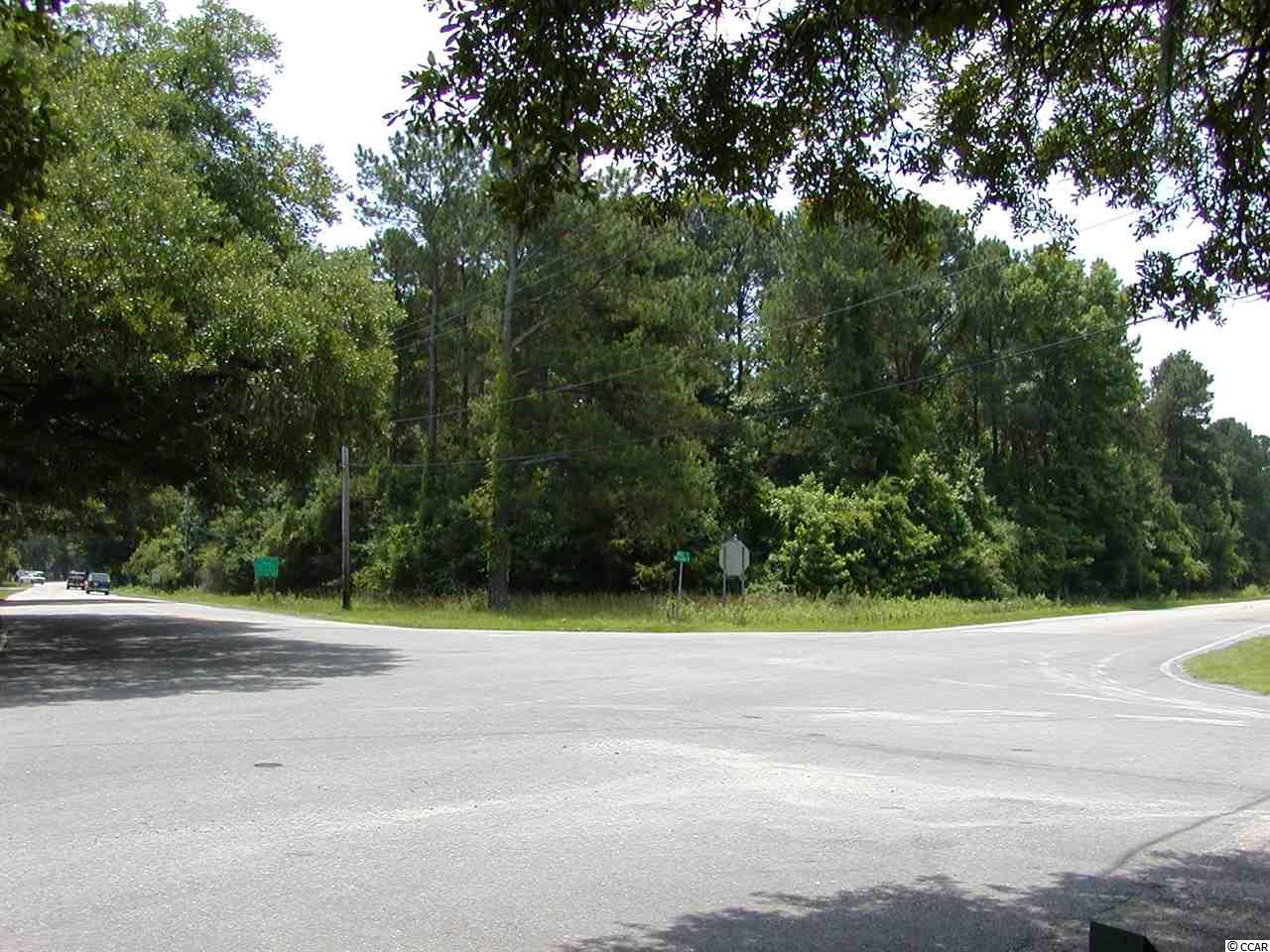 3.28 wooded acres with cleared underbrush. Premium location surrounded by Live Oaks and near all that Pawleys Island has to offer including multiple golf courses, beaches, rivers, shopping, dining, bike paths, gardens and much more.  Zoned as Flexible Design Development District.  Perfect for multi family units.  Please see proposed design created by one of the counties top design/developers which has already been approved by Georgetown Planning & Zoning and Georgetown County Council.