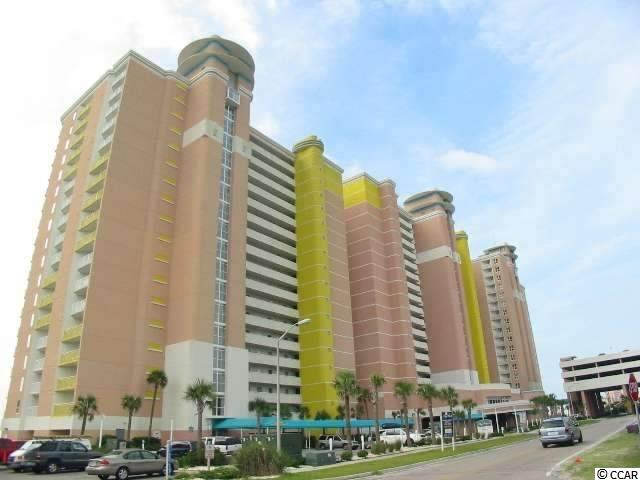 Baywatch in North Myrtle Beach!  Beautiful resort end unit, penthouse condo, 2br/2ba. This unit features new carpet in the living room, new carpet on the balcony, new window on the north side of the building, new slider in the master bedroom, upgraded kitchen with new cabinets, granite countertops and upgraded sink, new refrigerator, new vanities and granite countertops in both bathrooms, flat screens in all rooms, HVAC new in 2016, and washer and dryer in unit (only 2 years old).  Excellent ocean front views north from the main balcony and the master has a private balcony with ocean views as well.  The resort has tons of amenities including indoor and outdoor pools and lazy river, hot tubs, a seasonal Tiki bar, onsite restaurant/bar and lots of outdoor patio space.  Baywatch is conveniently located in the heart of North Myrtle Beach, close to shopping, golf, entertainment, restaurants and all that the city has to offer!