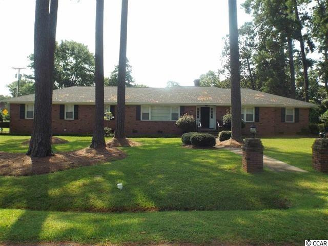 Lovely 3 bedroom/2bath, brick, ranch on a large corner lot in the city of Conway. The house was take down to the studs in 2015. Formal living room and dining room and a den with a fireplace off the kitchen. It has granite counter tops, remodeled kitchen and bath and a screened porch on the back. Listed below appraised value. Won't last long.