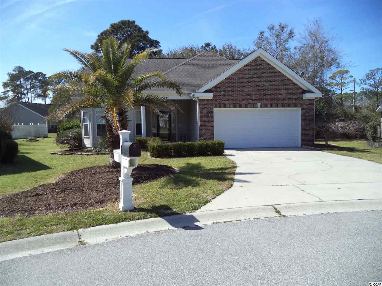 3 bedroom 2 bath ranch style home.  New paint, new water heater, new faucets.  All tile floors.  HVAC repairs and new servicing done by TNT Heat and Air Company.  Great home with fenced yard for kids or animals.  There is a well for sprinklers.  Private location with a great clubhouse and amenities.  Near Calibash and Little River at the State line.