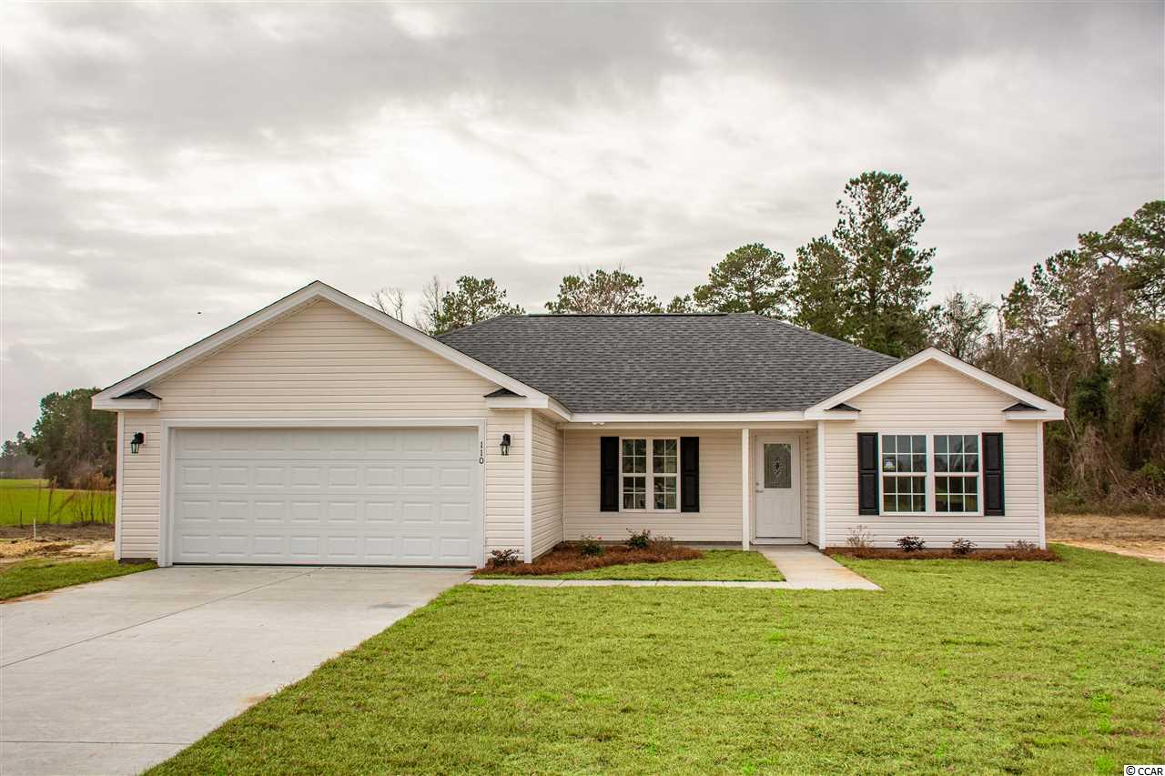 NEW CONSTRUCTION! You will not be disappointed! All the finishes you would find in a premier custom home without the huge price tag. With its open floor plan, this 3 bed 2 bath home feels peaceful from the moment you enter. From storage to style this kitchen has it all with features like granite counter-tops, soft close cabinets, pantry, and spacious counters. The master bedroom is both desirable and detailed featuring a tray ceiling and a large walk in closet as well as the sought after double sink in the master bath. This split bedroom plan offers 2 other bedrooms both with plenty of closet space.Whether you're entertaining guests or sipping on your morning coffee, relax in the privacy of your backyard. Located in Westfield, a new quiet subdivision with NO HOA and just 10 minutes to downtown Conway.  **Pictures are representative of what home may look like when its completed.**