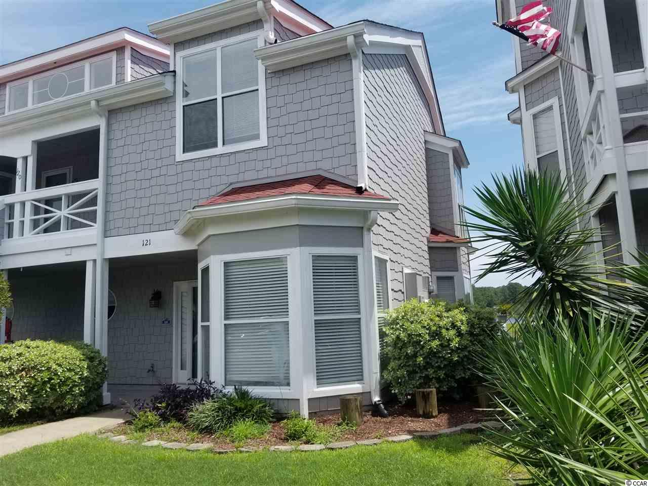 It is all about the waterway view!  Beautiful 3 bedroom, 2 - 1/2 bath townhouse that only needs your special refinements! 1st floor master! Wonderful marina community with pool, hot tub, and private lounge with fun community activities. Walking distance to Little River waterfront, home of Blue Crab Festival Shrimp Festival, Big M Casino boat, Patio's, Crab Catcher's, Capt Jewels, etc!  40' boat slip also available!