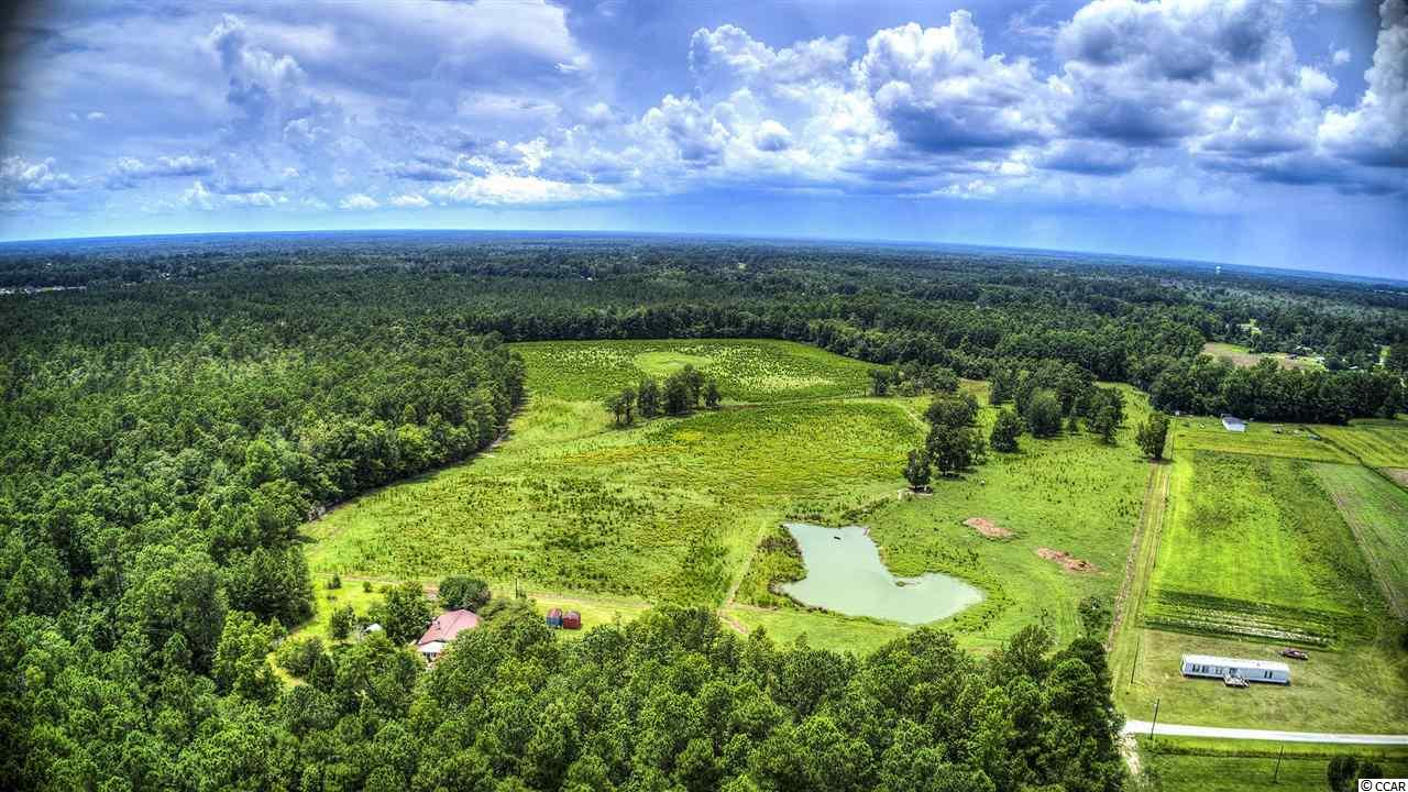 Great tract just mins from Conway.  96.33 Acres.  Approx. 40 Acres cleared/pasture land, remainder is wooded.  Public water is available.  Home and small pond located on the property.