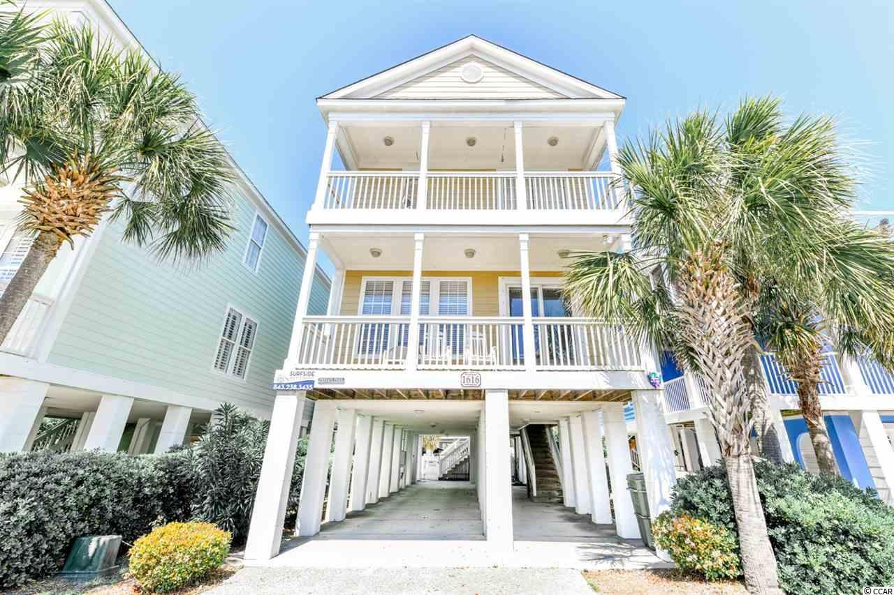 This beautiful 5 bedroom/4 bathroom home comes fully equipped with two great covered porches, a nice size private pool, and an outside shower. Great rental investment or second home. Home is being sold furnished! New, fresh paint in 2019.