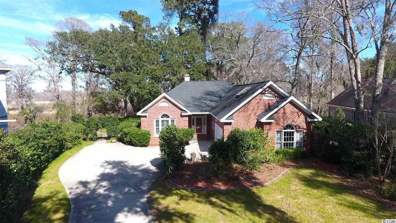 If you're looking for a beautiful all brick home in Heritage Plantation, you've found it! Sitting on one of the largest marsh view lots in the entire community, this gorgeous home boasts a split floor plan, tile flooring, an air conditioned Carolina room, a bonus/4th bedroom and energy efficiency like no other. The home features 3 separate heating/cooling systems, a whole home fan, and a programmable thermostat for your water heater! In the springtime your backyard comes to life with color, where you'll get to enjoy the views of the marsh and sail boats passing on the Intracoastal Waterway . Heritage plantation is wonderfully appointed with a golf course, marina with boat access, pool, tennis courts, fitness center and private clubhouse. This home is an absolutely must see, schedule your showing today! All information is deemed reliable but not guaranteed, buyer is responsible for all verification.