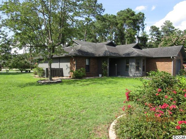 Myrtle Trace 2BR/2BA home in 55+ Community.  Sunroom can be converted to a 3rd bedroom if desired.  Nice Landscaped corner lot.  Large rooms, Master Bath upgraded with nice walk-in shower, etc.  Split bedroom floor plan.  Kitchen upgraded pulus has a breakfast nook.  Screen patio, nice Carolina Room w/windows on 2 sides.  Outside attached storage shed for lawn mower, etc.  All appliances & window treatments convey.  Many new windows installed recently.  Very active community that offers: clubhouse & outdoor saltwater pool.  Located close to fine dining, shows, shopping, golf, medical facilities & most anything else you want or need!