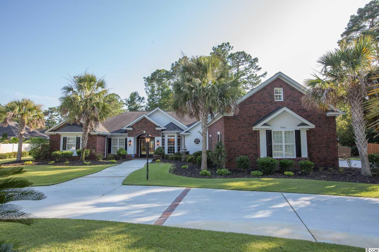 A rare opportunity to own a 4 bedroom, 4 bath brick home with a bonus room over a 3 car garage on a 1/2 acre lot with NO HOA - bring your RV, boat and trailer! Tucked away in this ocean side of Hwy 17 community, this sprawling home has everything you can want and then some! A fenced back yard that is just calling for a pool. A large master suite with fireplace, his-n-her closets, huge bath, double vanity, whirlpool tub and glass enclosed shower. Formal dining area, living room, family room and gathering room with fireplace just off the large eat in kitchen that features granite countertops, custom cabinetry, center island, pantry, all appliances included. A dream carolina room just off the rear of the home will knock your socks off! Three additional bedrooms, jack-n-jill bath and guest bath on ground level. Additional features; steam shower, 100 gallon propane tank that runs a generator that will run 2 fireplaces, master bedroom, bath, outlets in kitchen area, partial home AC, washer and garage doors. A whole house surge protector, protective film on rear window in Carolina room/family room, Well pump for irrigation, security cameras with playback, stereo speakers and receiver in most rooms, insulated garage and garage doors, mini-split HVAC in garage (2018), solar attic fan, solar tube in kitchen, circulating hot water system for all faucets, Carolina room mini-split 2018, commercial grade energy shield covering all house in attic, hardwood flooring.....WOW! Close to beaches, fitness centers, shopping, championship golf courses, restaurants. CALL TODAY TO SEE THIS FABULOUS HOME! Square footage is approximate and not guaranteed.  Buyer is responsible for verification.