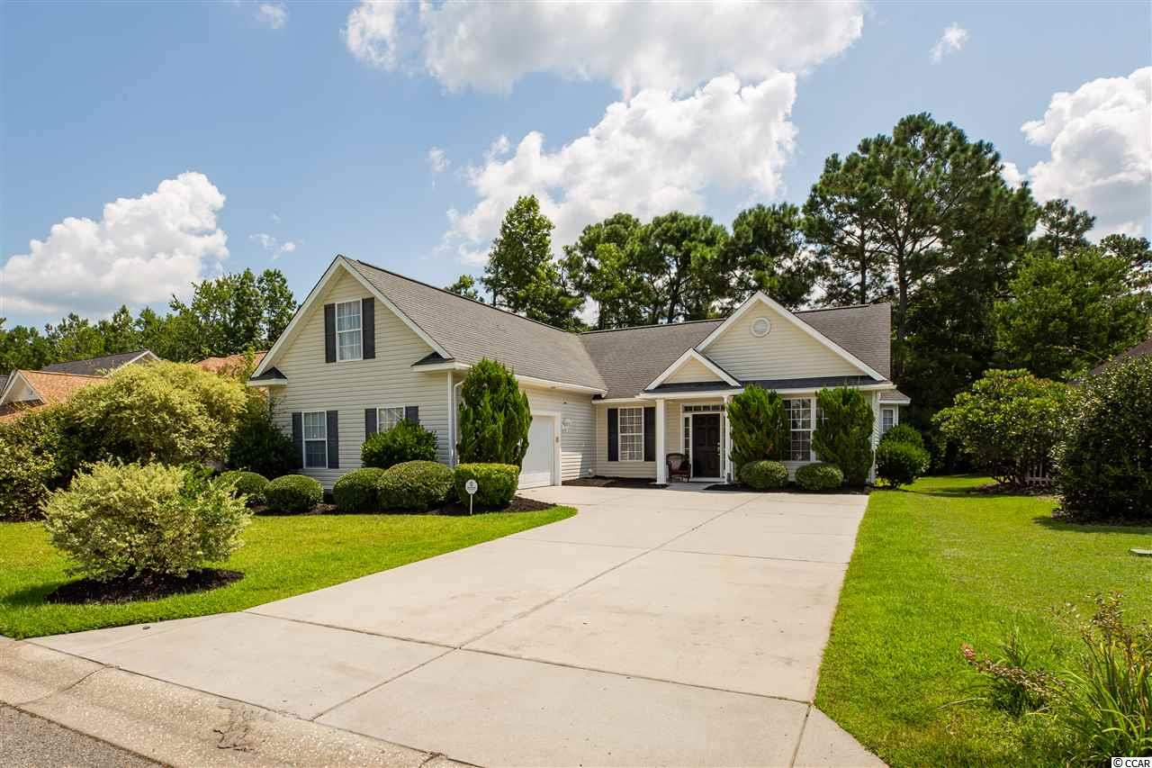 This is a wonderful opportunity to live in the ideal setting; a beautiful tree-lined, golf course community far enough off the highway in a quiet setting, yet only a few minutes from all of the shopping and dining that 501 has to offer.  And barely 10 miles from the ocean!  You will love to entertain in the open kitchen where your guests can enjoy the spacious living and dining areas.  For a more formal setting, you have a separate dining room directly off the kitchen that is perfect for your holiday gatherings.  Enjoy cookouts or relaxing on your private patio in the picturesque backyard that overlooks a small pond.  The amenities include a pool, tennis court and community room with a kitchen.  And did we mention that there is a golf course across the street?!  The master bedroom and two additional bedrooms complete the first floor along with a nice laundry area located in the hallway between the 2 car garage and the spare bedrooms.  As a bonus, your second floor has a full size room along with the 3rd full bathroom.  This space can be used as the 4th bedroom, private office or whatever fits your needs!  New roof is scheduled to be installed by mid September, and the water heater has been replaced in 2019 and the HVAC in 2018.    Don't miss this opportunity, call listing agent today to schedule a personal showing.