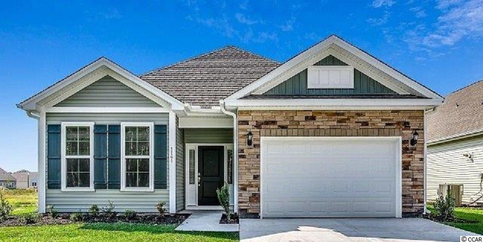 MOVE IN READY: Beautiful New Garden Home in Cypress Village, A Natural Gas Community featuring a gas Rinnai tank less hot water system, gas heat, and as an option gas cooking. Home offers an open kitchen and living area design with lots of natural light, plus an oversize 1.5 Garage.  features include granite counter tops and SS appliances. A first floor Master Bedroom suite has a huge walk-in closet off the master bath with a linen closet with plenty of storage. A split 2nd bedroom floorplan with bath.   Low HOA offers weekly lawn maintenance, trash and recycle and resort style pool, cabana, and gym.  Lots more to come and see!