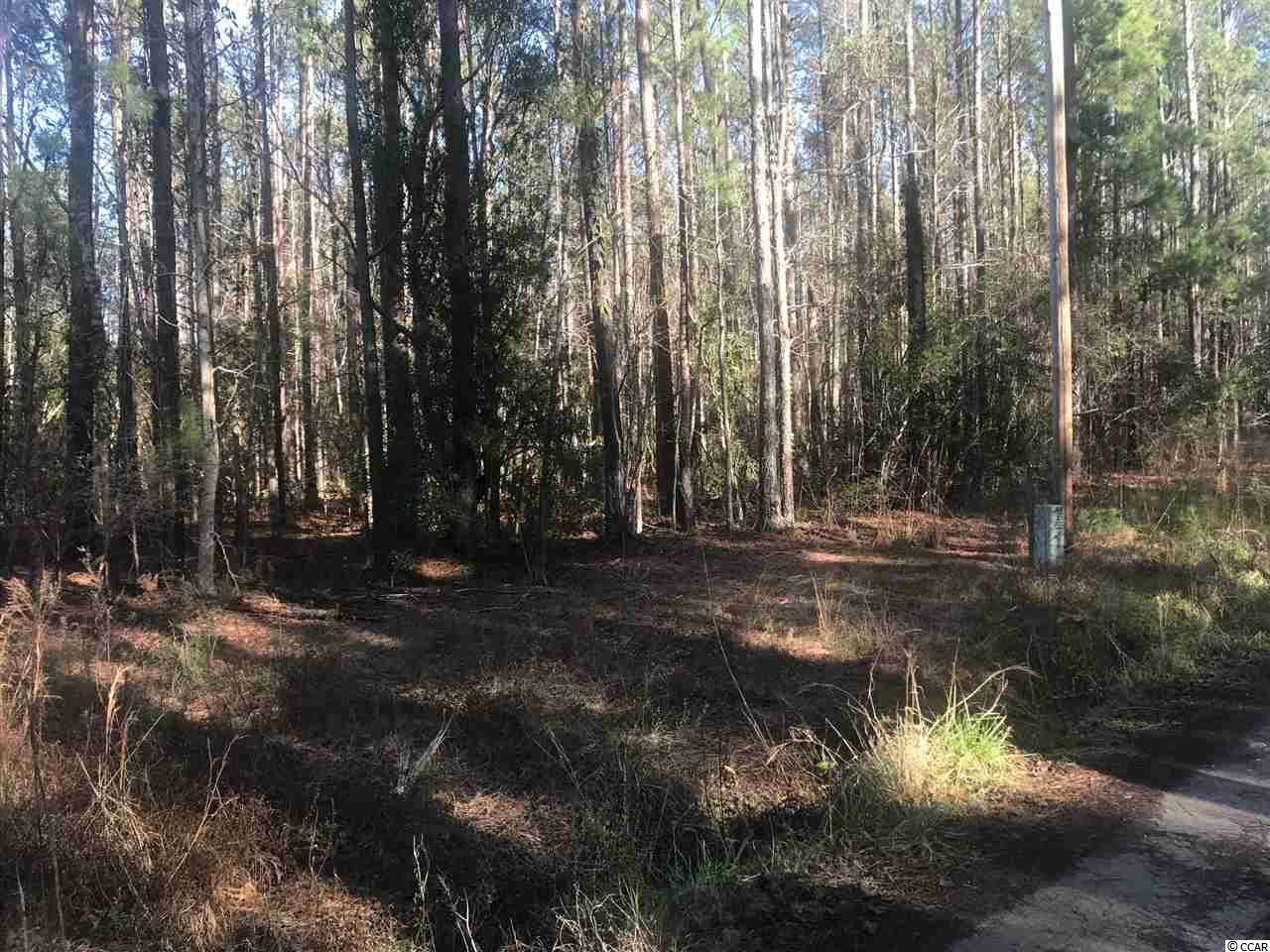 Room to Roam after purchasing this 13 acre tract of wooded land. This affordable acreage is located just off of Highway 57 in Little River.  Plenty of room to build your dream estate with NO HOA fees!  Multiple uses for this property, which is on both sides of Finnell Rd. Cut the timber and make some cash and start building! Only 10 minutes to the beach! Hurry because this deal won't last long!