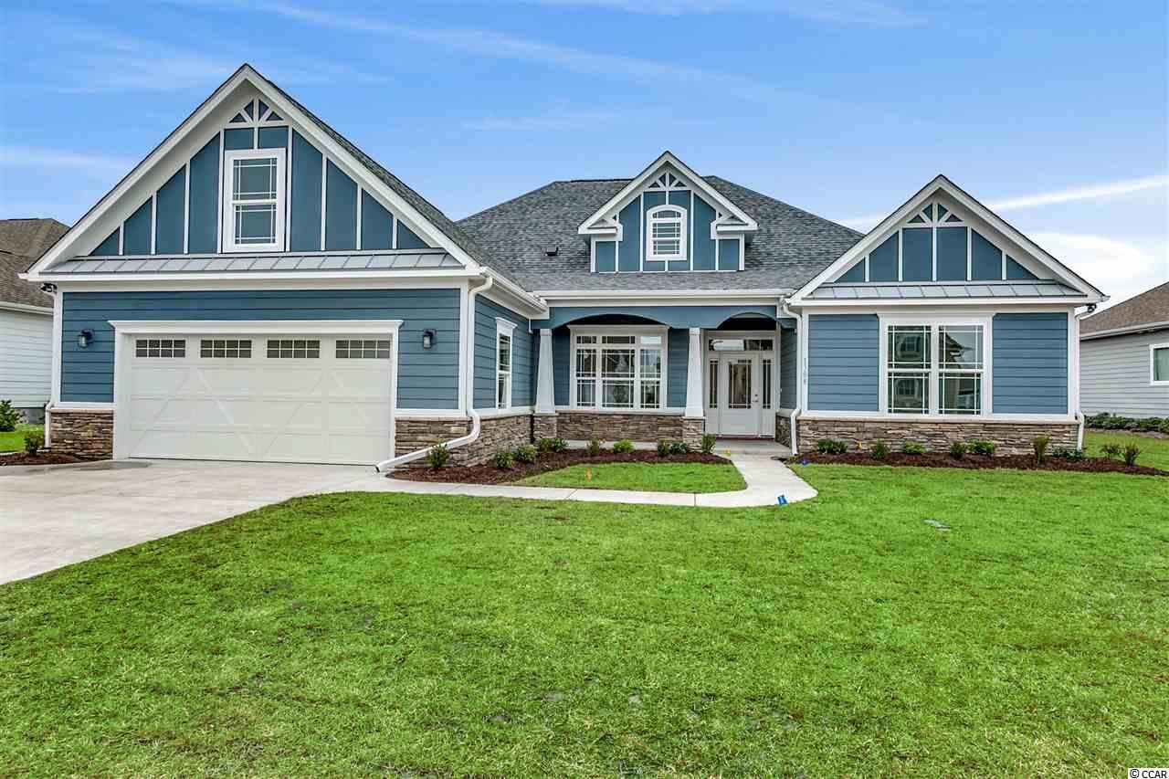 NEW 5BR/4BA CUSTOM HOME CONSTRUCTION IN RIVER HILLS!! Want to be close to the Intracoastal Waterway and near the ocean? No worries! River Hills is a well established golf course community located in Little River, SC across the street from the largest main basin in our area (Myrtle Beach Yacht Club) and only a 5 minute drive to the ocean! Do you desire to be close to restaurants and shopping? River Hills is conveniently located and only a short drive to the Coastal North Shopping center featuring a host of restaurants and shopping including  Publix, Dick's Sporting Goods, TJ Maxx, Pet Smart, Chipotle, Panera Bread, Mission BBQ, Hickory Tavern and many more shops and restaurants!   This new craftsman style 5 bedroom 4 bath quality built custom home is soon to start construction and will be ready for its proud new owner by February 2020! This beauty will have all the bells and whistles to enjoy an exceptional lifestyle at the beach. Custom features of this home include 12' ceilings in the foyer, great room, dining room, kitchen and breakfast area with customized coffered ceilings in the great room and double tray rope lighted ceilings in the dining room and master bedroom. Porcelain tile floors throughout this remarkable home with a crown molding package that is second to none! The arched cased openings, bull nose corners, upgraded 7 1/4 baseboard, deluxe 5 1/4 crown molding, well appointed wainscoting and custom window trim throughout this open and airy 5BR/4BA floor plan will simply amaze you!Custom cabinetry and granite counter tops in the kitchen, master bathroom, guest bathrooms and the laundry room.  All closets are custom designed with upgraded wood shelving. The covered rear veranda extends the full length of the home with travertine flooring, 2 ceiling fans, 10 recessed lights and an outdoor TV set up that is perfect for entertaining! Home will have a finished 2 car garage and is perfectly situated on a premier golf course homesite overlooking a beautiful Par 