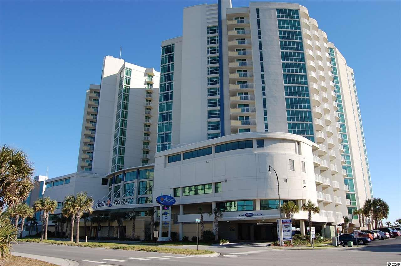 Avista 2BR/2BA oceanfront condo.  Nicely decorated & appointed.  Large floor plan, beautiful views!  Great amenities: indoor/outdoor pools, hot tubs, lazy river, onsite restaurant, exercise facility & more!  Located in the Ocean Drive section of NMB.