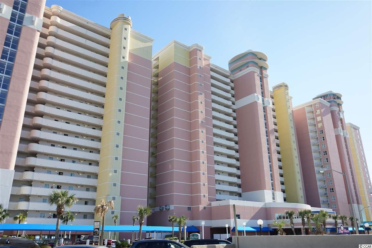 Come check out this great 12th Floor Deluxe 1 Bedroom Oceanfront Condo in the Baywatch Resort located in the Crescent Beach area of North Myrtle Beach! This unit has a washer/dryer and is a true 1 bedroom floor plan that also includes a murphy bed for extra guests  as well as a sleeper sofa so this condo easily sleeps 8. This unit has a spacious Living Room, Full Kitchen with new refrigerator.  The bathroom has a Jacuzzi Tub, and there is tile in the Kitchen and Bath! The whole unit has been painted and new flooring throughout.  The HVAC was replaced in 2016.  Drive up to the front steps, be greeted by a bell captain to assist with luggage and valet parking! There is a concierge service, as well as the convention facilities, a full service restaurant and they are all located in the Central Tower! Baywatch has indoor/outdoor pools, lazy river, Jacuzzis, fitness center, convention space, restaurant, sports and a tiki bar - everything needed for a great vacation! HOA fees are very affordable and include electric, cable and internet.Come check out this awesome 12th floor true 1 Bedroom Oceanfront Condo.
