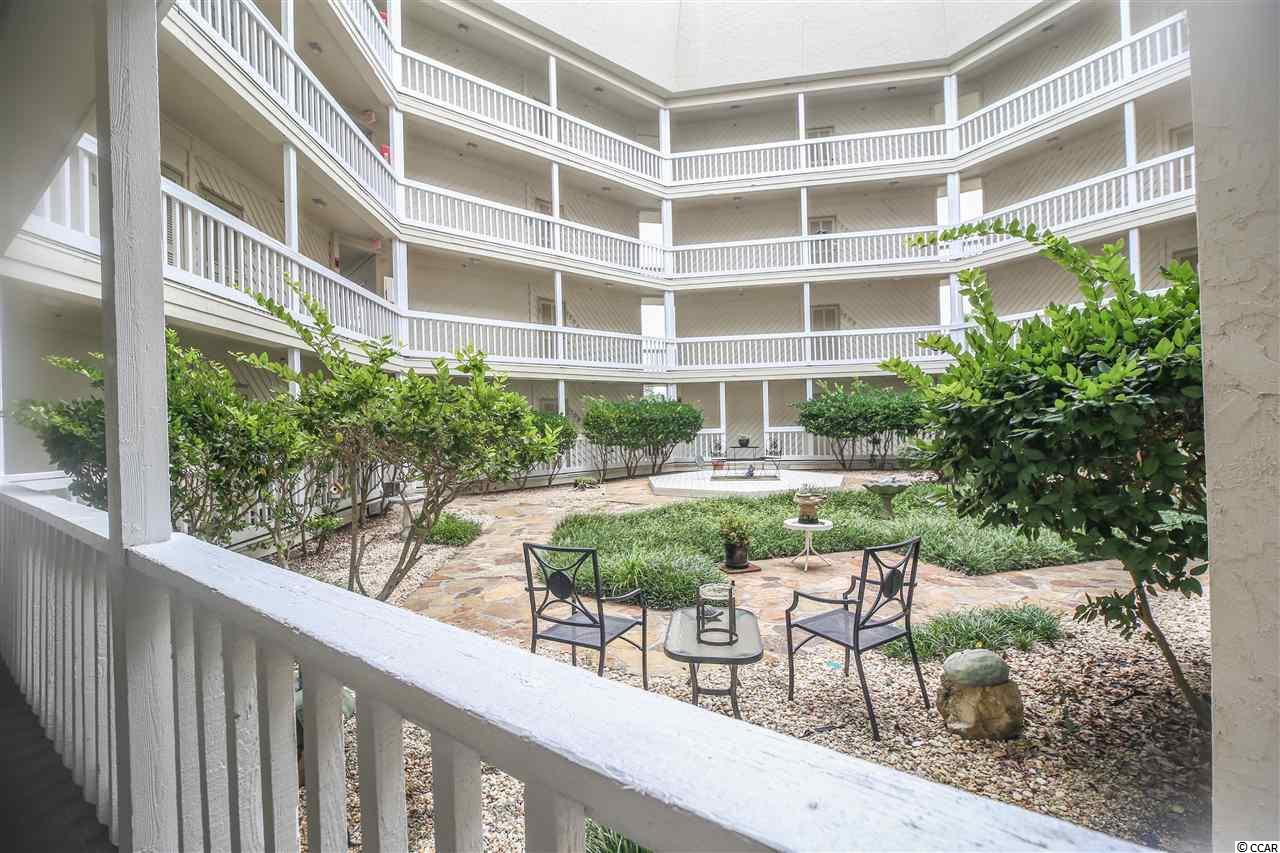 What a find in this end unit 3br 3ba overlooking the Intracoastal Waterway and yet close to the beaches of Cherry Grove!  Lots of windows and sunlight with laminate flooring throughout, custom cabinetry, Quartz countertops, new HVAC, new washer/dryer and large screened porch to relax and watch the boats go by.  Complex has elevator and large pool that is open year round.  Open air courtyard with seating.  At this price you will want to call and schedule a viewing today!!