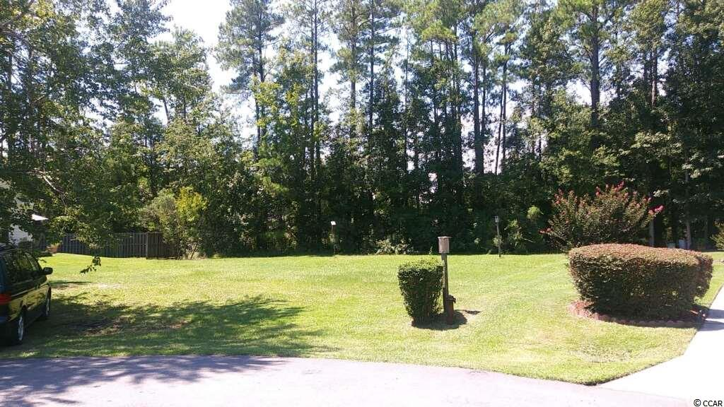 Beautiful grassy lot - can't miss #4204 Edgefield Road. Well established neighborhood. Bellacroft on Highway 90 is across from North Myrtle Beach Middle School. On a cul-de-sac!