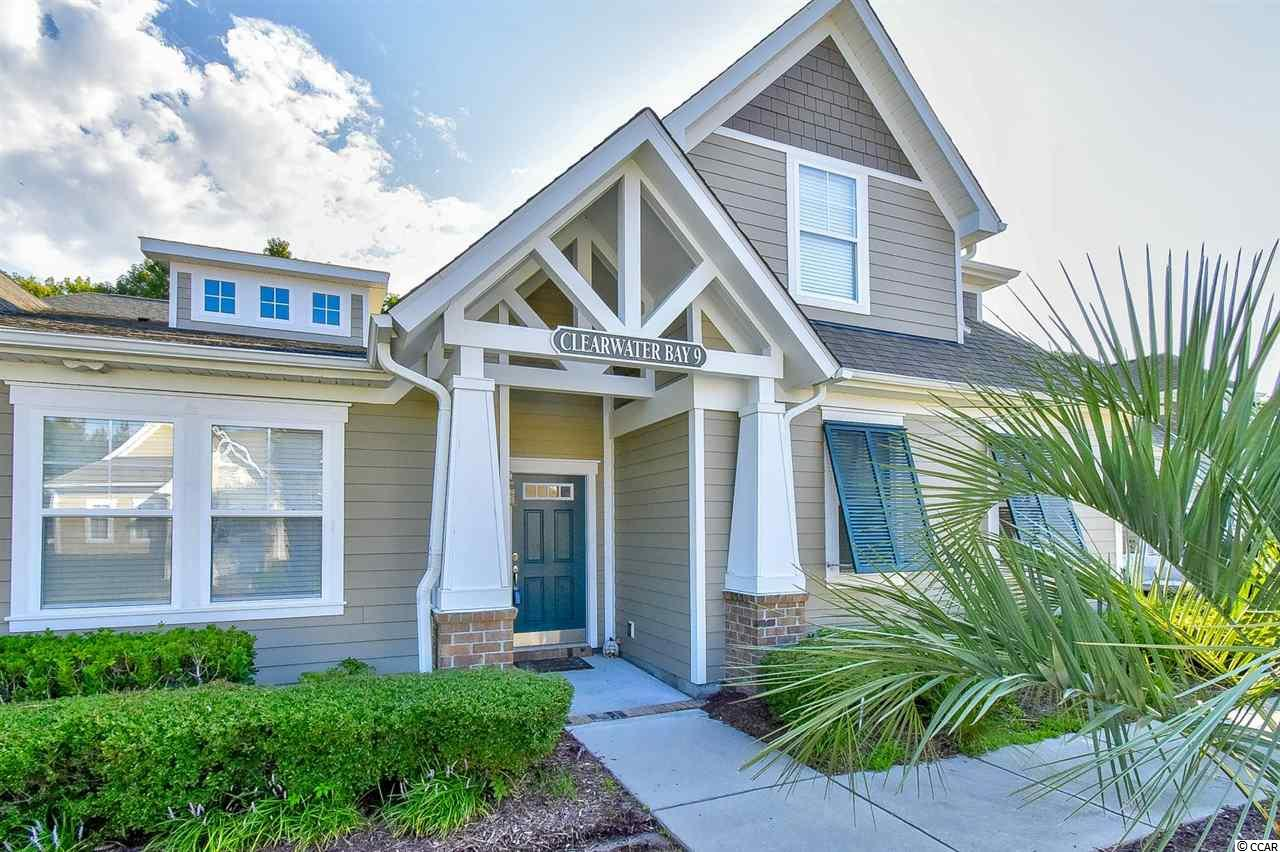 Must see this 4br/4ba Townhome style condo in Tanglewood at Barefoot Golf Resort!  This spacious unit features new HVAC in 2018, open floorplan w/ vaulted ceilings in living/dining/kitchen areas, master ensuite & a 2nd bedroom w/ full bath on first floor, laundry/utility room, 2 bedrooms w/ 2 full baths on 2nd floor, large private patio, 2 car garage, golf cart will convey w/ acceptable offer (sellers discretion) and unit comes w/ a transferable golf membership for a transfer fee to buyer! Come relax and enjoy your morning coffee or an evening cocktail while grilling or entertaining on the private patio!  On top of this fantastic unit, Clearwater Bay which is located w/in Barefoot Resort's 2,300 acre community offers awesome amenities including it's own community pool, a 15,000 sqft salt water pool overlooking the ICW, a beach cabana on the ocean w/ complimentary seasonal shuttle service to/from, 3 on-site restaurants, 2 multi-million dollar clubhouses, Greg Norman Golf Academy, 4 signature golf courses, walking, biking and so much more! Located adjacent to Barefoot Landing, Barefoot Resort is conveniently located close to the ocean w/ 60 miles of white sandy beaches and and all of the shopping, dining, entertainment, golf, area attractions & all the beach has to offer. Whether a primary residence, an investment or your vacation get-a-way, Don't Miss ~ Come live the dream!