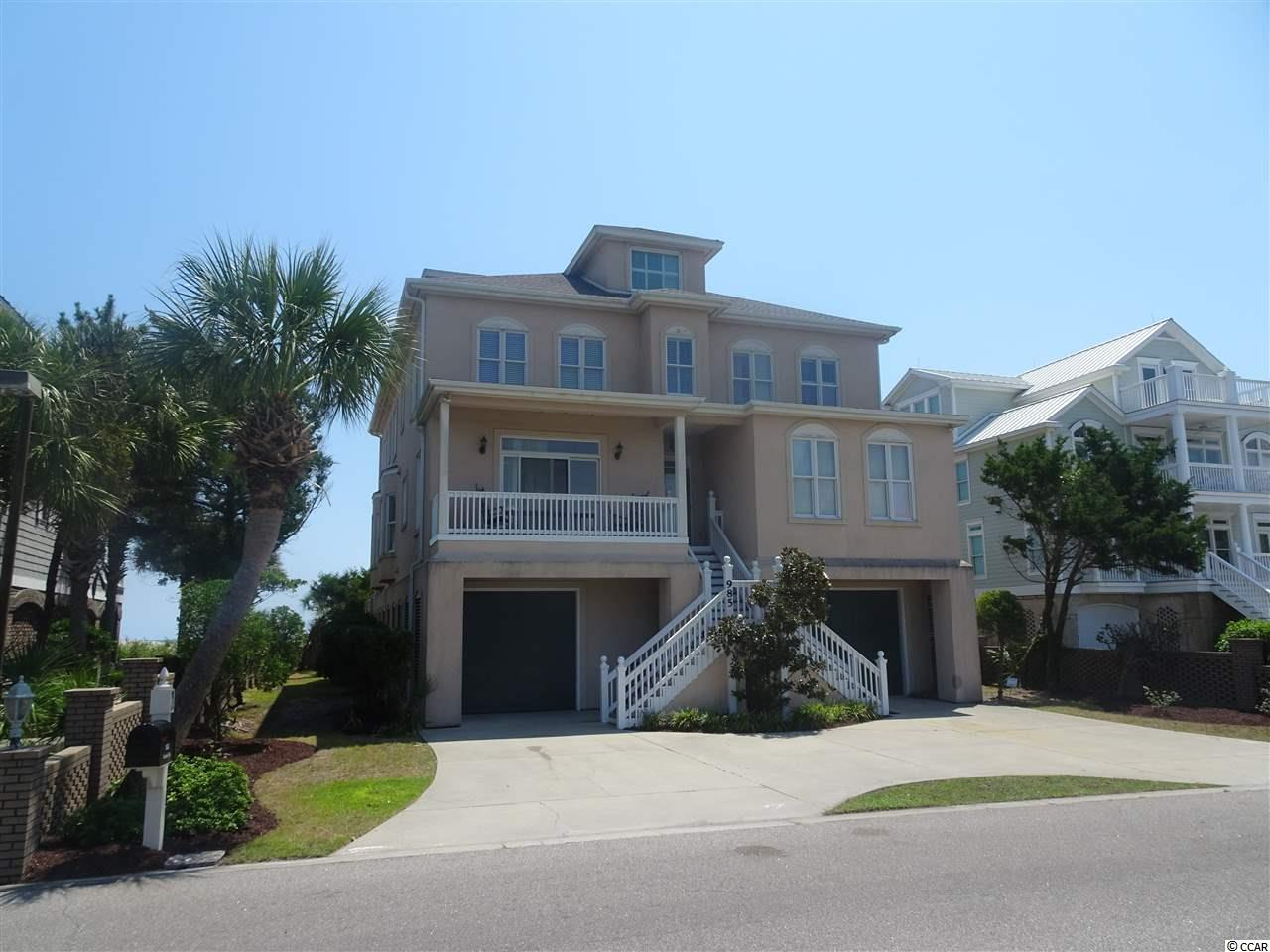 A grand beach house at a tremendous value, just waiting for the right buyer to complete renovation to your own needs and dreams.  985 Norris Dr. is located in the prestigious community of The Peninsula at Inlet Point on the south end of South Litchfield Beach. Located direct ocean front and backing to the Inlet with shared dock, 985 Norris boasts great views from almost every room. A rare find with potential of up to 9 bedrooms with 8.5 baths. New roof, New HVAC, and New Water Heaters plus complete interior cleaning and restoration from water damage complete in 2018/2019. However, renovation is not complete with 2nd and 3rd level flooring and final stucco repair or replacement to be done by Buyer. Great rental potential, forecast of rental income available. All dimensions are approx and should be verified by the Buyer.