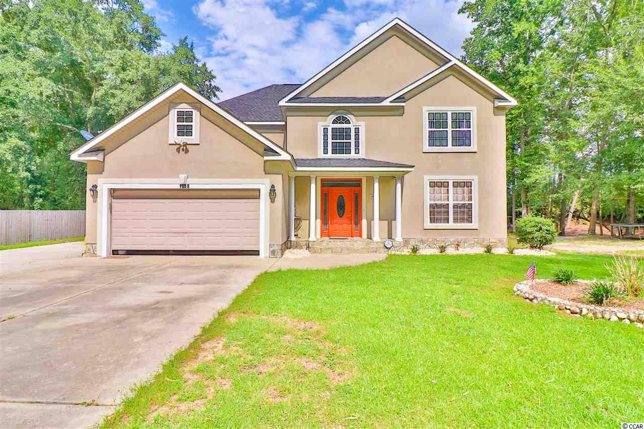 This Lovely two-story home located in Henrick Lakewood on Academy Drive, offers plenty of room with 5 Bedrooms and 2.5 Baths. The eat-in kitchen features an island counter plus a separate dining area. In the master Suite, you will find a walk-in closet plus a private handicap accessible bathroom. Enjoy the nature from your screened sunroom overlooking the backyard with a shed and large metal building for your storage needs. This home located right on Highway 501 with a short drive away from your favorite shopping centers.  Book your showings today!