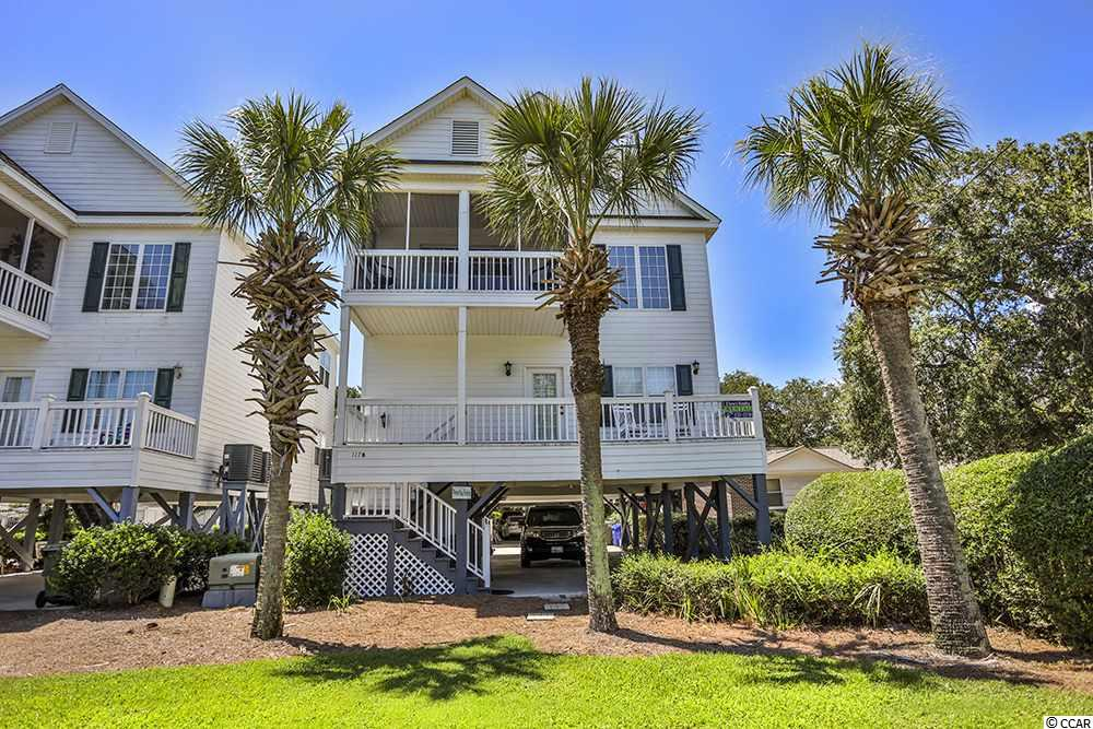 "Looking for a 4BR 4BA beach house...well look no more! Primary home, secondary home or rental home, this property has it all! Just a quick walk to the beach from your front porch as you are only a block away from the convenient public access. This home has 4 bedrooms each with their own bathroom, the MBR opens to the rear screened porch and one of the upstairs bedrooms opens to a private screened porch on the front of the house with a peak of the ocean through the palm tree. The current owner has recently replaced the roof, HVAC systems and refrigerator, as well as 3 new TVs and new sofa. The exterior has been repainted and all new plantation shutters have been installed inside. This home has been greatly cared for, not only on the inside and outside, but also with the mechanicals and maintenance. It has very strong rental income history as it is located in the short term rental zone of Surfside Beach. Beach on 9th is a small HOA community with just 7 homes, a large community pool, two BBQ areas, and also the lawn maintenance, landscaping, pest control, cable TV and internet are all included in the low cost HOA dues.  There is plenty of parking under the home and even extra parking by the community pool. This home is being offered completely turn-key furnished and it comfortably sleeps 14. There is plenty of storage both inside and outside. So, come have a sway on the swing, rock in the rockers, eat a bite on the back screened porch, or listen to the ocean waves from the front screened porch...all of these things you can enjoy here. Call today to see this Surfside Beach beauty known as ""Beachy Keen"" at Beach on 9th!"