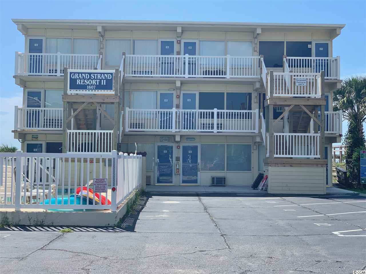 Looking for a deal on the oceanfront? You must see this direct oceanfront end unit condo located in the crescent beach section of North Myrtle Beach. Location, Location, Location! Close to main street, barefoot landing, restaurants, shopping, and all the beach has to offer. Perfect opportunity for an investor or weekend getaway, schedule your showing today!