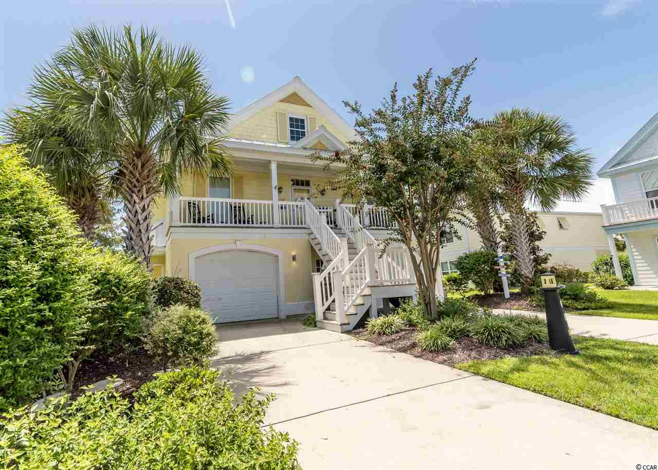 Located in the award winning intimate Bermuda Bay community  you'll find this well maintained 5 bedroom home perfectly  located in a quiet cul-de-sac as a full time home, a get-away or a VRBO property.   This one owner home was designed perfectly for both a couple  or one that loves relatives and friends to visit and sure to be envied all that one finds when it comes to the outstanding array of amenities year round.  A highly desired feature is that the home features a separate entrance that can be used for friends and relatives or the perfect VRBO opportunity.    Amenities including indoor and outdoor swimming pools, kiddie pool, basketball and volleyball courts, a well equipped fitness center and tennis/pickle ball courts.   Best of all is the private community beach with golf cart parking just a few minutes drive.     Shopping and day trips you couldn't find a better location on the coast.  Head north to spend the day visiting an array of small beach resorts or a 30 minute drive to excellent shopping and attractions in Myrtle Beach or head south to spend the day in the charming historic city of Charleston.    I'm available 7 days a week to show you this great house or any home in the Ocean Village or Bermuda Bay communities.  I also specialize as a buyer's agent which is a great asset to those out of town looking for just the right coastal home.