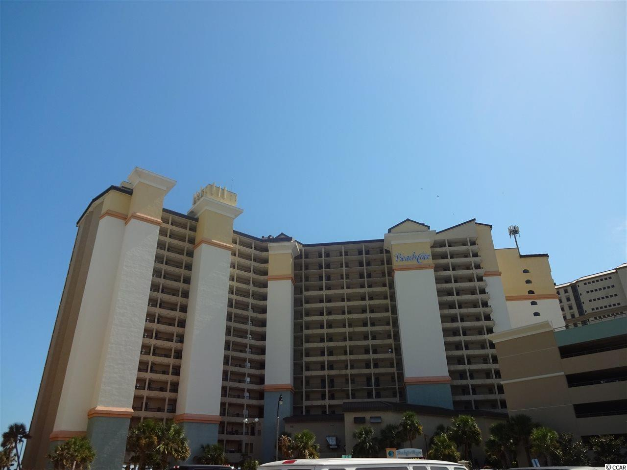Gorgeous 1 bedroom and 1 full bath condo is fully furnished and direct ocean front is priced to sell and ready to enjoy! This unit has been totally updated from a new HVAC and hot water tank to new cabinets and appliances in the kitchen and granite counter tops in the kitchen and bathroom and 2 new queen size mattresses. All the flooring has been replace with luxury porcelain plank flooring and new tile in the bathroom. This unit has been well maintained and is waiting for you to wallow in the breathtaking views of the beautiful ocean from your large balcony. Beach Cove Resort has it all from indoor/outdoor pools and spas, lazy river, racket ball court, sauna, gym, conference rooms, restaurants, bars, game room and much much more! This resort is located near Barefoot Resort and area attractions and is just minutes from anywhere on the Grand Strand. This condo should be at the top of your list so don't miss your chance to own a piece of Paradise!!!