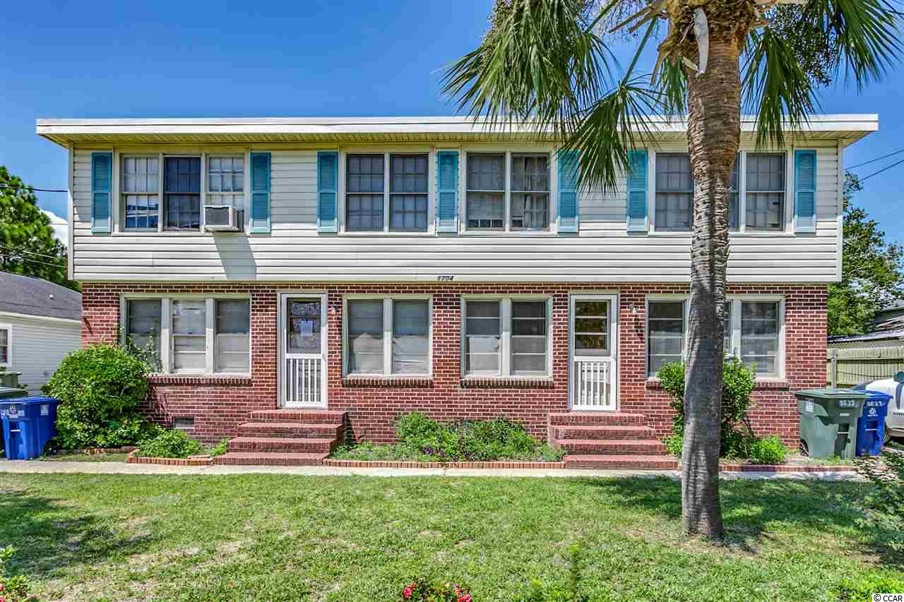 WHAT A DEAL for 7 units.  Great rental income!  All units are occupied except one as of 8/27/19, but should be rented ASAP.  Ample parking for the tenants, with a pull through circle drive.  Laundry room with coin operated washer and dryer onsite for tenants.  These are all large units that offer plenty of living space and close to the beach. Upgrades include: new floors, new appliances in most units, landscaping, most units have new exterior doors, light fixtures, plumbing valves, reinforced stairs as well as ceilings fans in some units.