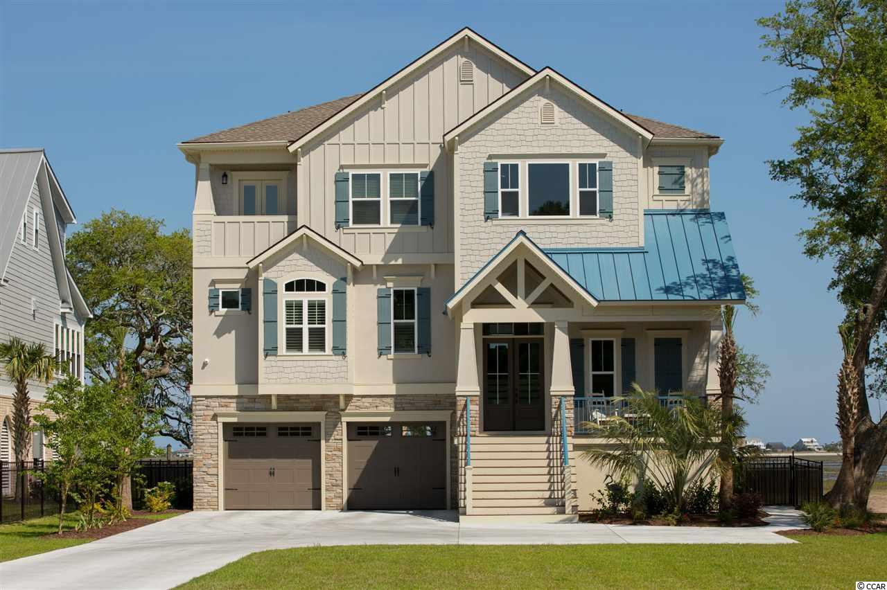 A Classic Home to be built in a gated Intracoastal Waterway community with only six 2+ acre home sites within the community and a shared walkway to the floating dock on Winyah Bay. Stunning landscaped brick entrance into the gated Historic Plantation with beautiful live oaks lining the home sites and giving the Historic Plantation feel as you make your way through the curve drive to the end where you will find this home site consisting of 18.7 acres with approx 1.5 acres high and the balance in bay marsh and a navigable creek and dock. This Classic home offers unbelievable views of the bay, Intracoastal Waterway, views of the Waccamaw River bridge in the distance and views of Belle Isle Marina. Many Classic Home exterior features including Hardi Plank, Architectural shingles, concrete driveway, Painted garage walls and baseboards, automatic steel garage doors and openers. Interior features include Coffered ceiling in great room, one piece crown molding inside all tray ceilings, luxurious vinyl tile flooring, smooth painted walls and ceilings, 8' high arched openings, gourmet appliances in kitchen, designer cabinets with granite counter tops and under mount stainless steel sink, walk in pantry, box tray ceiling over kitchen island. Wall to wall carpet in owners suite, box tray ceiling with crown molding inside tray, spacious walk in closets, porcelain tile flooring bath, roman tile shower with tile seat and shelves, double sink furniture vanity with marble top and freestanding tub. A full list of features can be provided upon request. Don't miss out in building your dream home from Classic Homes.