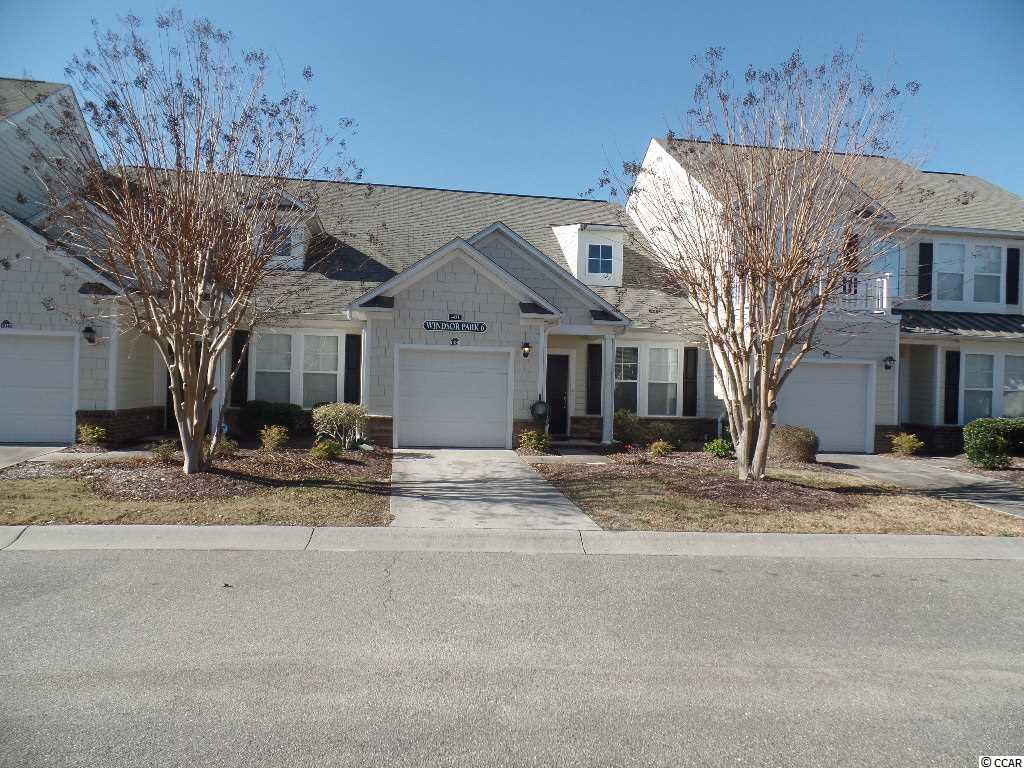 Grab your Piece of PARADISE with this 3 bedroom, 3.5 bath townhouse.  This home provides has a private garage along with a spacious kitchen with breakfast bar and breakfast nook. Enjoy your morning coffee on the screen porch.  Living area has cathedral ceilings.  Master bedroom is located on the first floor and bath has double vanity area.  The upstairs offers a loft area which is perfect for an office, study or play area. Both bedrooms upstairs has a  private bathroom.  Windsor Park has amenities galore with multiple pools and hot tubs.  A Clubhouse with fitness room, tennis courts, basketball court and walking trails and a 32 acre lake.  Plus access to the Atlantica Beach front resort with lazy river, indoor and outdoor pools and beach access.  Square footage is approximate and not guaranteed. Buyer is responsible for verification.