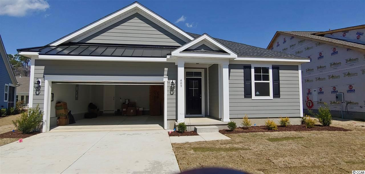 Champions Village is a beautiful golf course community in Prince Creek located on the 18th and 16th fairways of TPC Myrtle Beach.  Our model home is located at 105 Champions Village Drive, Murrells Inlet, SC.  Please stop by and see Chris Bowers or the on duty agent for more information.