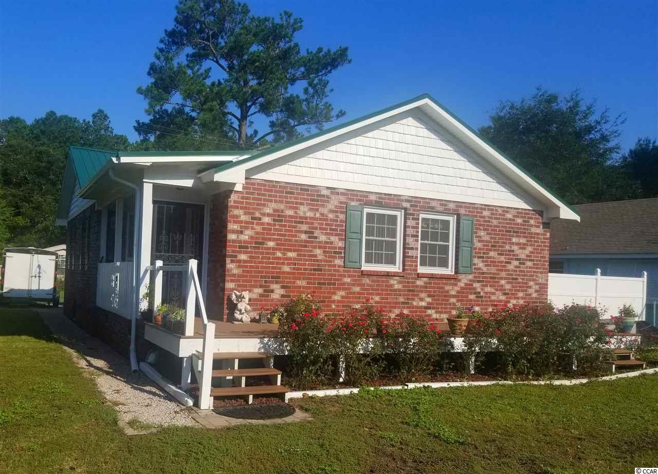 Solid Brick, Single Family zoned Live/Work. Clean 3 bedroom, full bath.  Completely upgraded. Commercial Kitchen. Rear Parking for 5 vehicles, 12X16 Wood Storage Shed. Location ideal, on Ocean Highway,