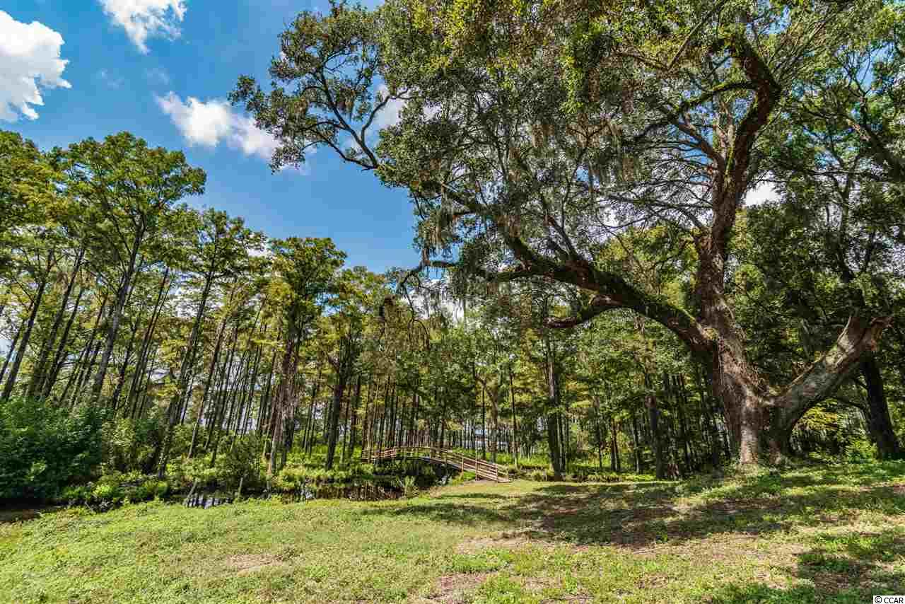 Beautiful High Bluff Waccamaw River/Intracoastal Waterway Frontage Lot,  just south of the Hagley Boat Landing, in Hagley  Estates - featuring majestic oaks, private pond, existing dock with floating dock and permit for future boat lift construction.  Enjoy picturesque Waccamaw River/Inter Coastal views- and all that the Waccamaw River has to offer from one of the highest bluffs in Georgetown County and the existing dock. The lot is one of two lots being listed for sale, and can be purchased individually or with adjacent lot. The lot is located a short drive from the Pawleys Island Beach and many of the Waccamaw Neck's Award Winning Golf Courses. Convenient day trips to enjoy the shopping, dining and the cultures of Historic Georgetown and Charleston can be experienced by driving 15 - 70 miles.