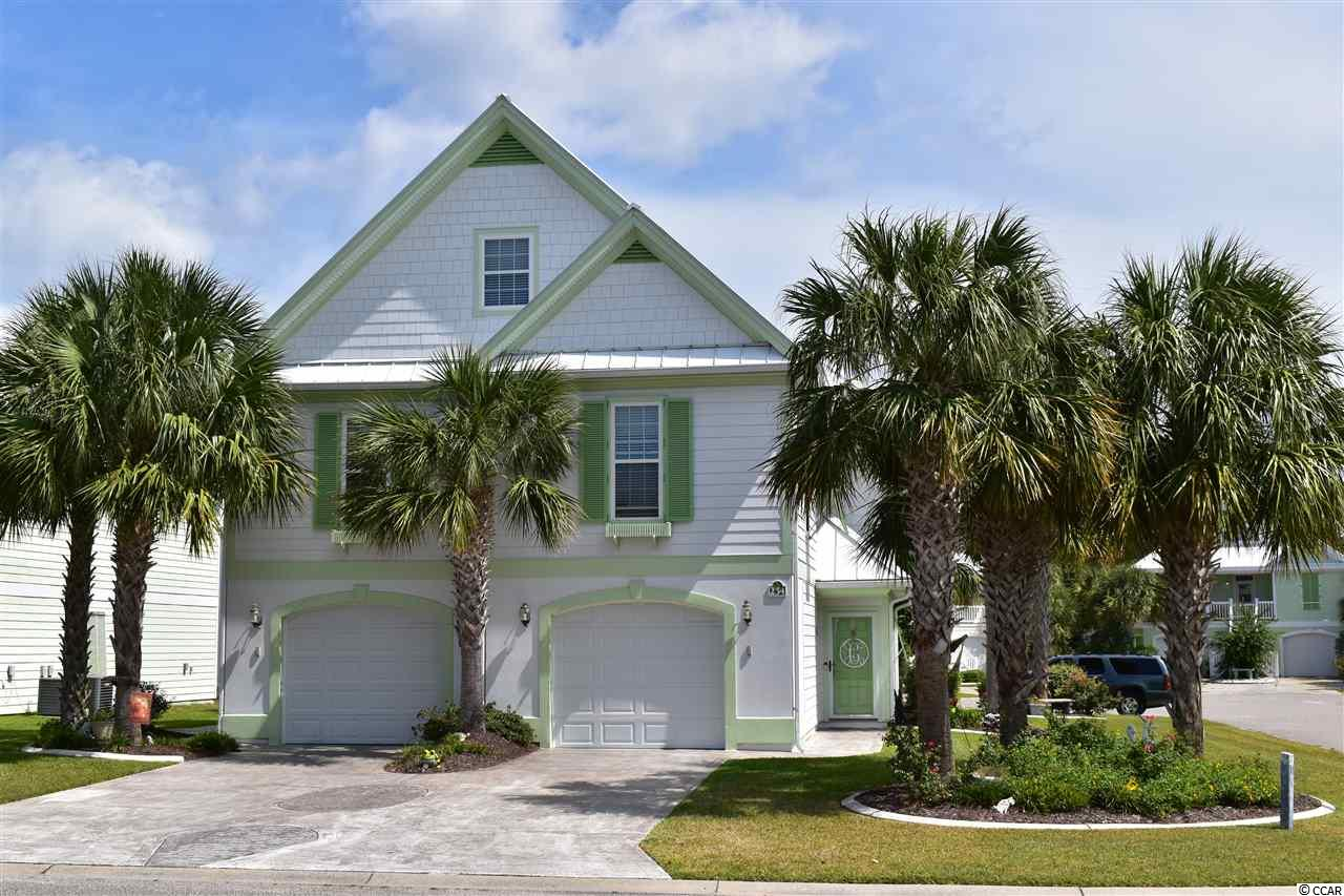 """You won't find a more perfectly designed & custom decorated home than this 5 Bedroom 4 full & 2 half bath 2005 Parade of Home Winner.   The 3 Story Island -style St George floor plan was specifically created for home buyers with a discerning eye & a desire to """"wow"""" friends, family & visitors with an over-the-top first impression.  The """"Wow Factor"""" is what you'll find at  254 Georges Bay. Not a single  expense was spared in this well deserved award winner.  From the open and flowing design of the main living area which features 3 bedrooms and 3 full baths, to the fully maintained guest accommodations featuring 2 additional bedrooms and the only model with 1.5 baths along with a 2nd kitchen & decked out living space in this area, this home is simply the perfect choice for entertaining guests & family just about every day of the year.  The outside is professionally landscaped with 14 palms trees, curb scape, lighting and irrigation on this beautiful corner lot.   The original owners have used the home as a part time beach residence, and now reside there full time.  The home is perfectly set up for a multitude of rental opportunities from weekly to seasonal and even full time with very few community restrictions.   Come see for yourself what beach living could be like all year long in one of the Grand Stands only residential resort neighborhoods designed with full time owners in mind.  **Amenities include 24 hour gated/patrolled security, private beach parking access, indoor heated & an outdoor pool complex featuring a splash park and two covered areas. A 9,000 square foot Community Center for planned activities, a separate activities & fitness center ($), Library, Lighted Tennis, Pickle Ball, Basket & Soft BallFields and so much more. While the current owners have lived in the home full time during their ownership, Bermuda Bay allows both weekly and off-season rentals in one of the only residential resort communities on the southern Grand Strand!"""
