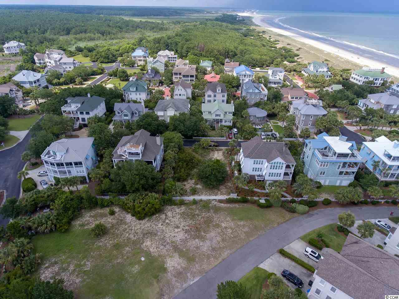 Absolutely a fantastic homesite located in exclusive Ocean Park. This property rests on the northern end of DeBordieu with a private walkway and bathhouse to the beach. A rare opportunity with a great price point.